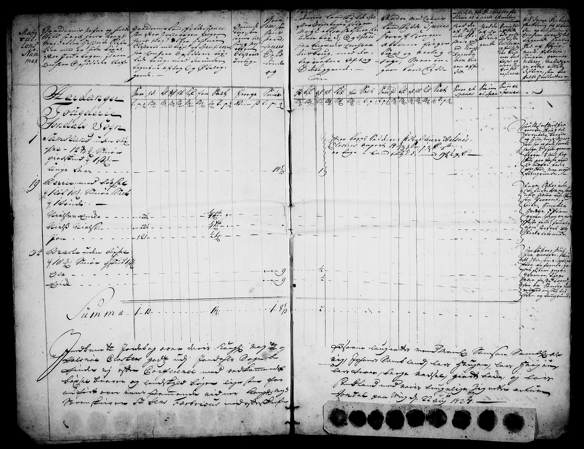 RA, Rentekammeret inntil 1814, Realistisk ordnet avdeling, On/L0003: [Jj 4]: Kommisjonsforretning over Vilhelm Hanssøns forpaktning av Halsnøy klosters gods, 1721-1729, s. 149