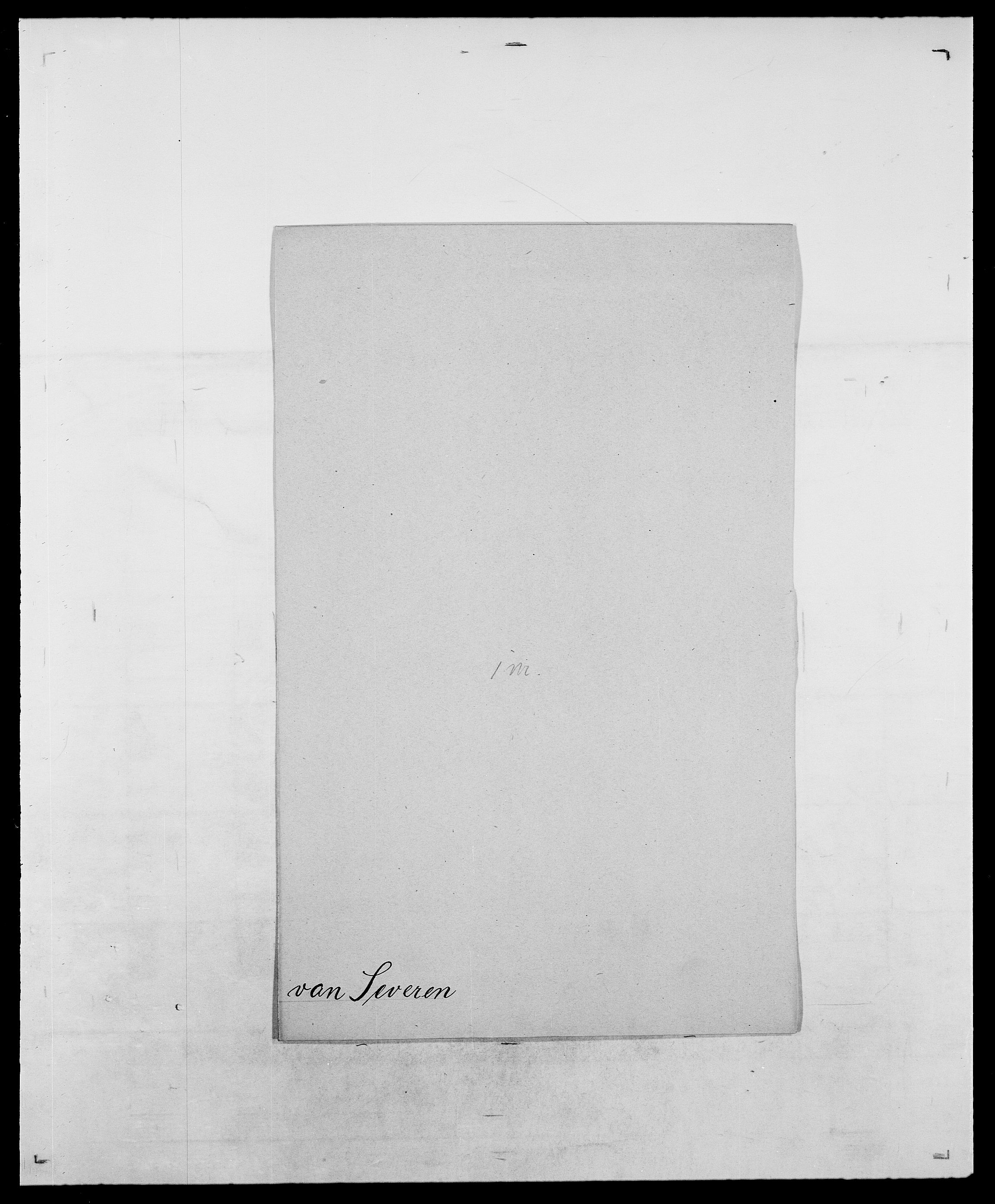 SAO, Delgobe, Charles Antoine - samling, D/Da/L0035: Schnabel - sjetman, s. 740