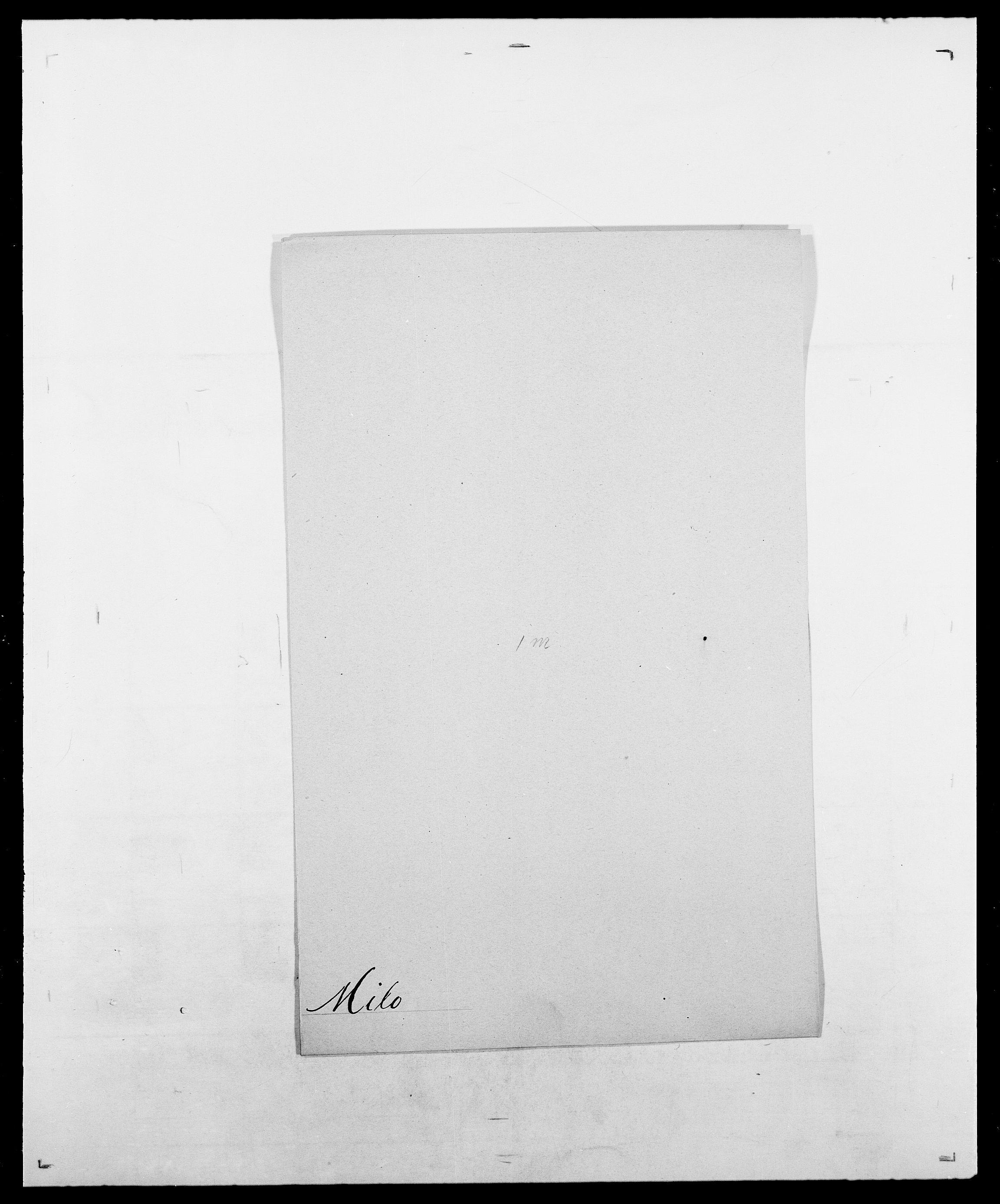 SAO, Delgobe, Charles Antoine - samling, D/Da/L0026: Mechelby - Montoppidan, s. 587