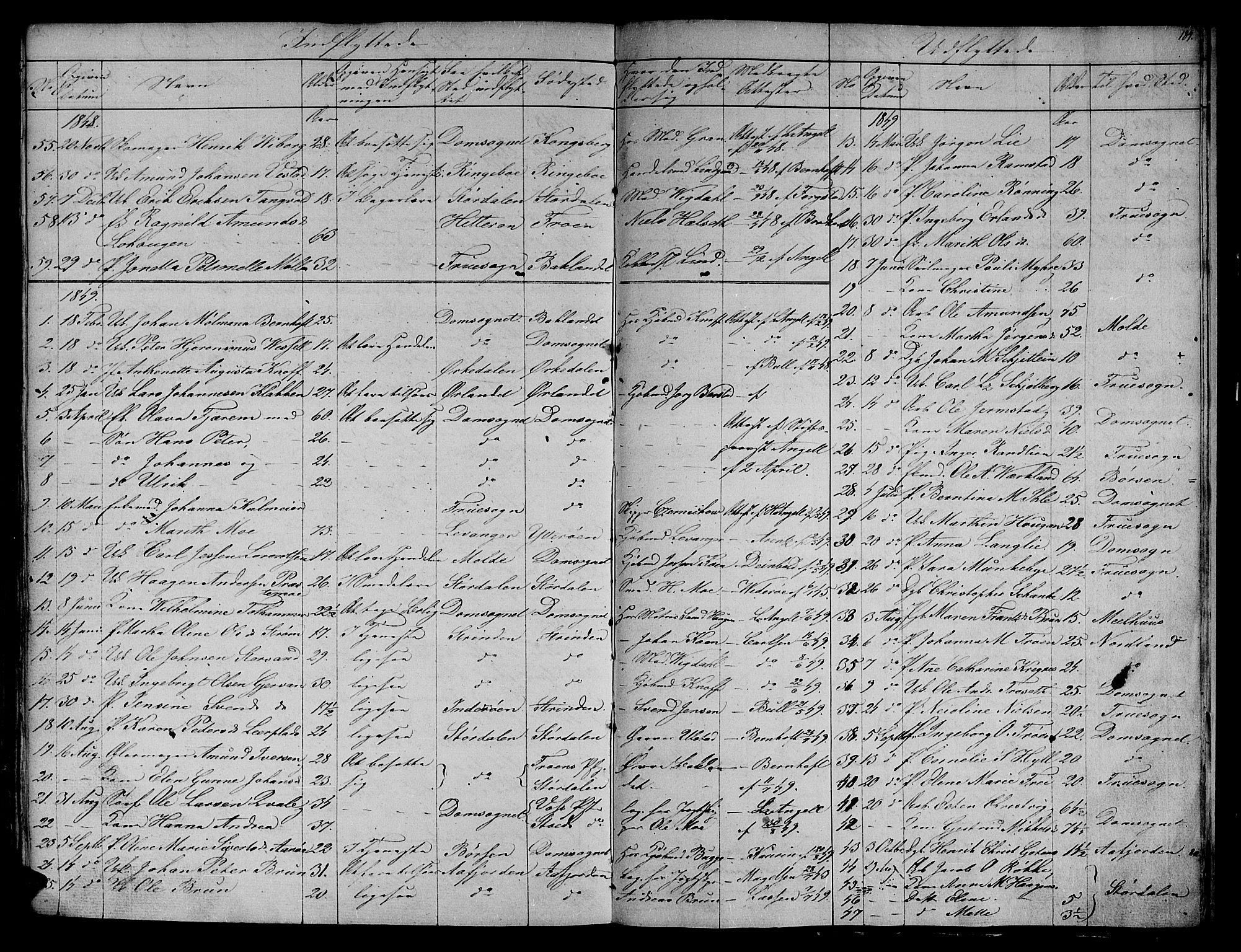 SAT, Ministerialprotokoller, klokkerbøker og fødselsregistre - Sør-Trøndelag, 604/L0182: Ministerialbok nr. 604A03, 1818-1850, s. 184