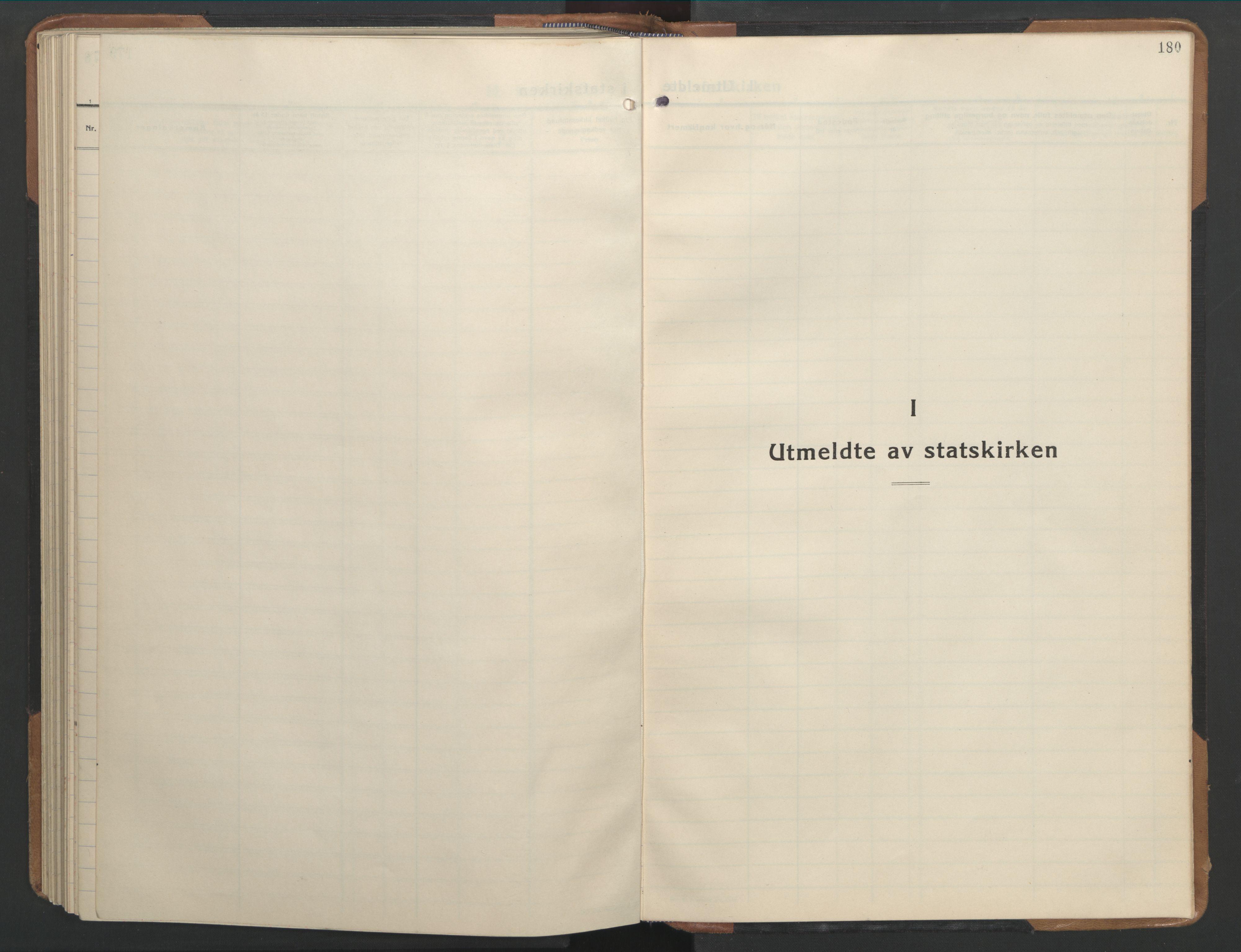 SAT, Ministerialprotokoller, klokkerbøker og fødselsregistre - Sør-Trøndelag, 655/L0690: Klokkerbok nr. 655C06, 1937-1950, s. 180