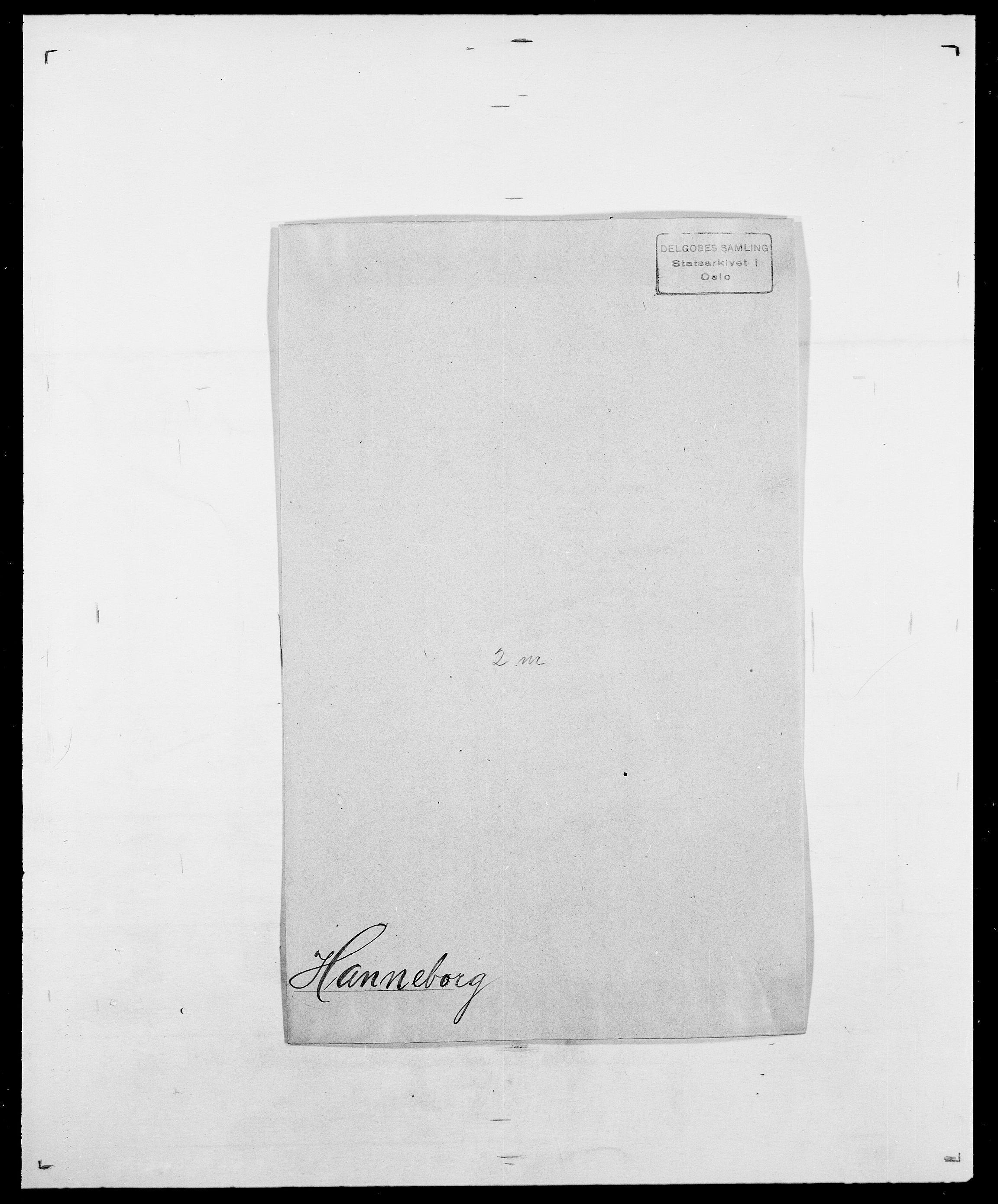 SAO, Delgobe, Charles Antoine - samling, D/Da/L0016: Hamborg - Hektoen, s. 110