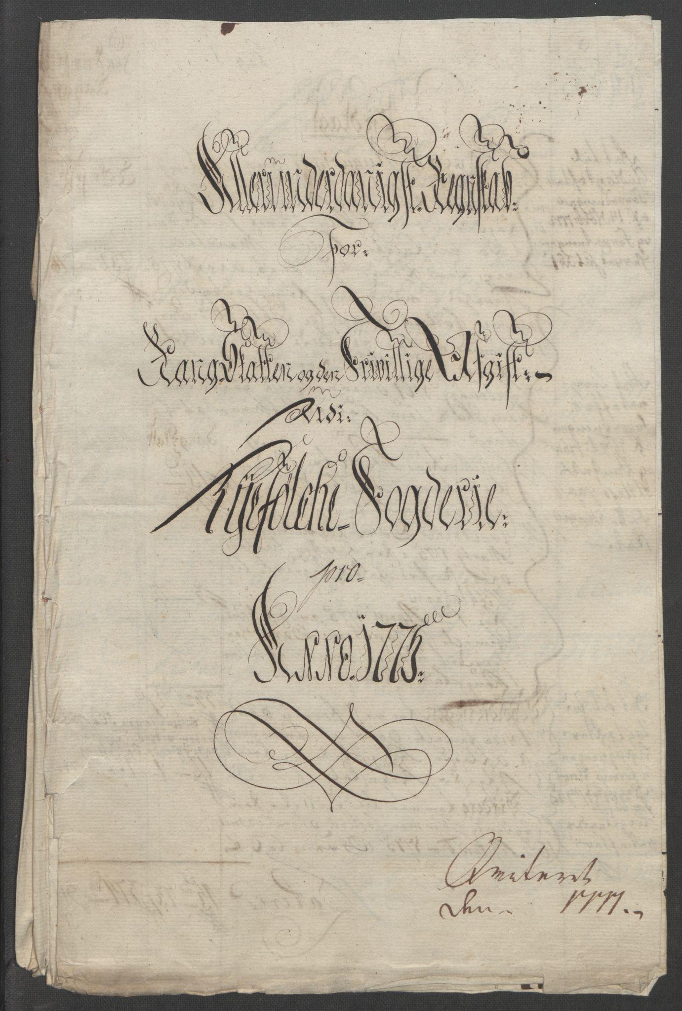 RA, Rentekammeret inntil 1814, Reviderte regnskaper, Fogderegnskap, R47/L2972: Ekstraskatten Ryfylke, 1762-1780, s. 504