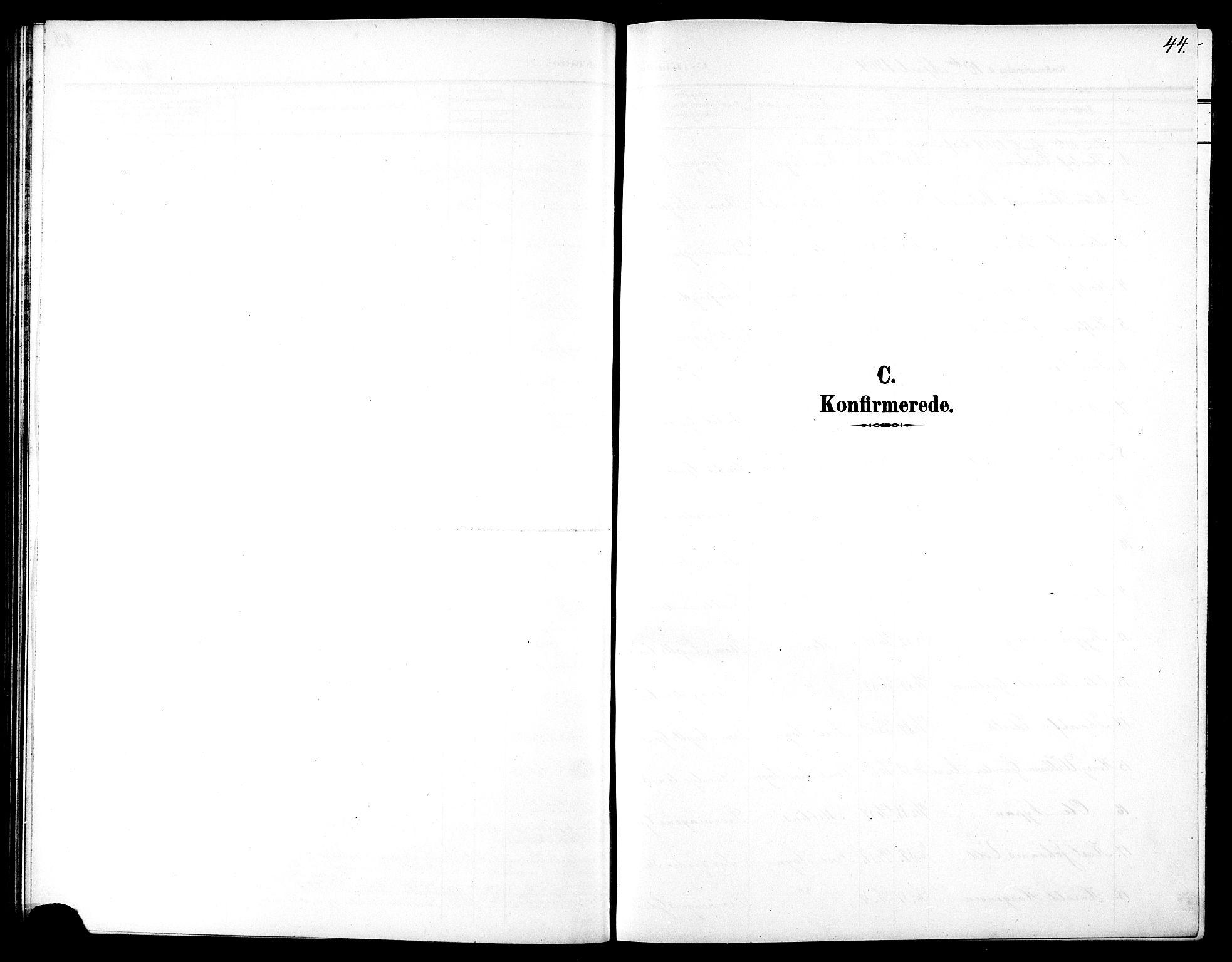 SAT, Ministerialprotokoller, klokkerbøker og fødselsregistre - Sør-Trøndelag, 602/L0146: Klokkerbok nr. 602C14, 1904-1914, s. 44