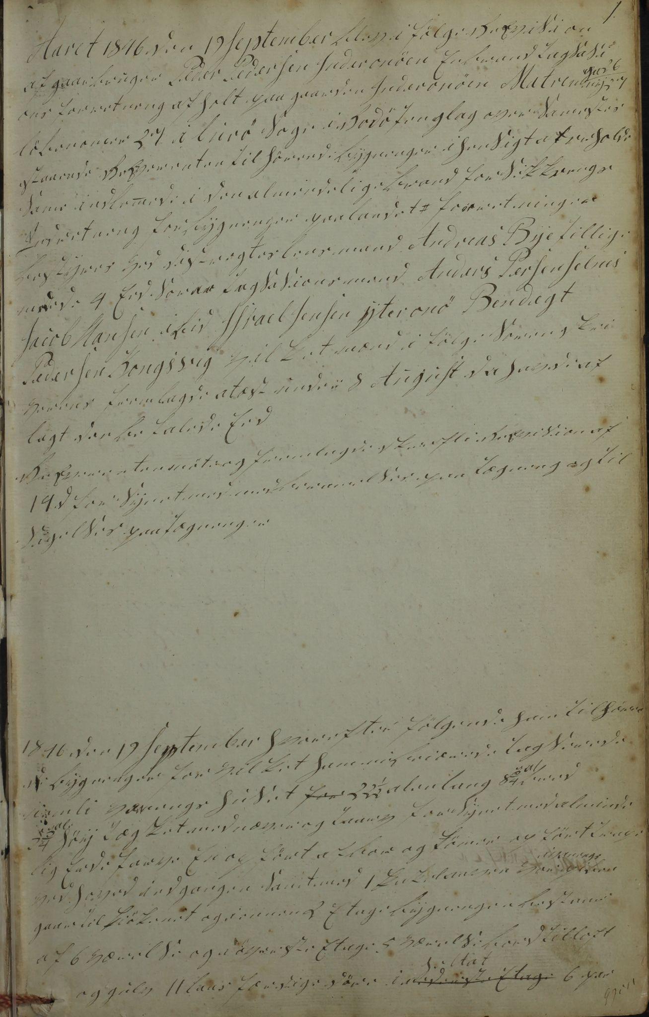 AIN, Lurøy kommune. Formannskapet, 100/L0001: Møtebok, 1836-1898, s. 1