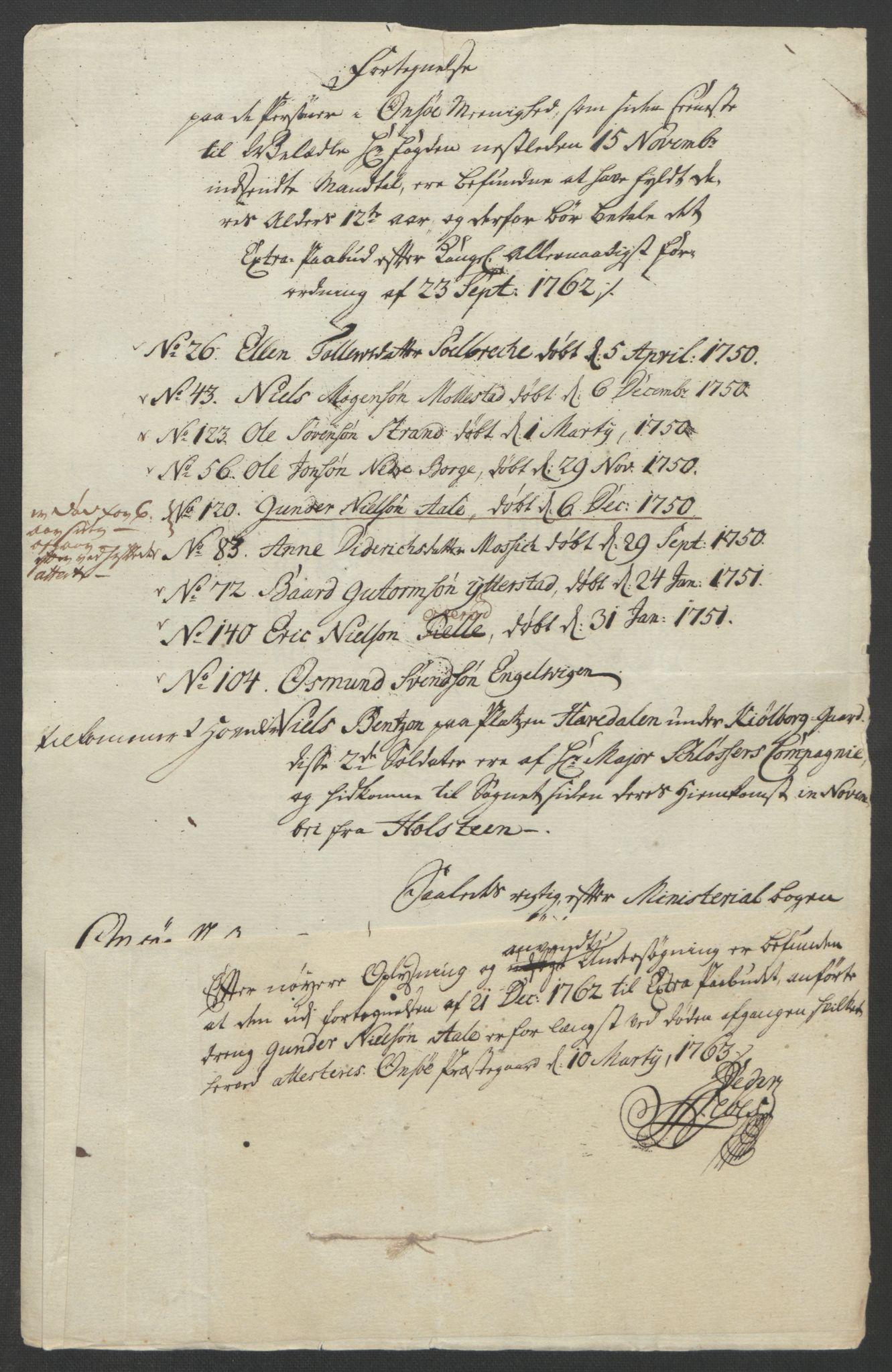 RA, Rentekammeret inntil 1814, Reviderte regnskaper, Fogderegnskap, R04/L0260: Ekstraskatten Moss, Onsøy, Tune, Veme og Åbygge, 1762, s. 302