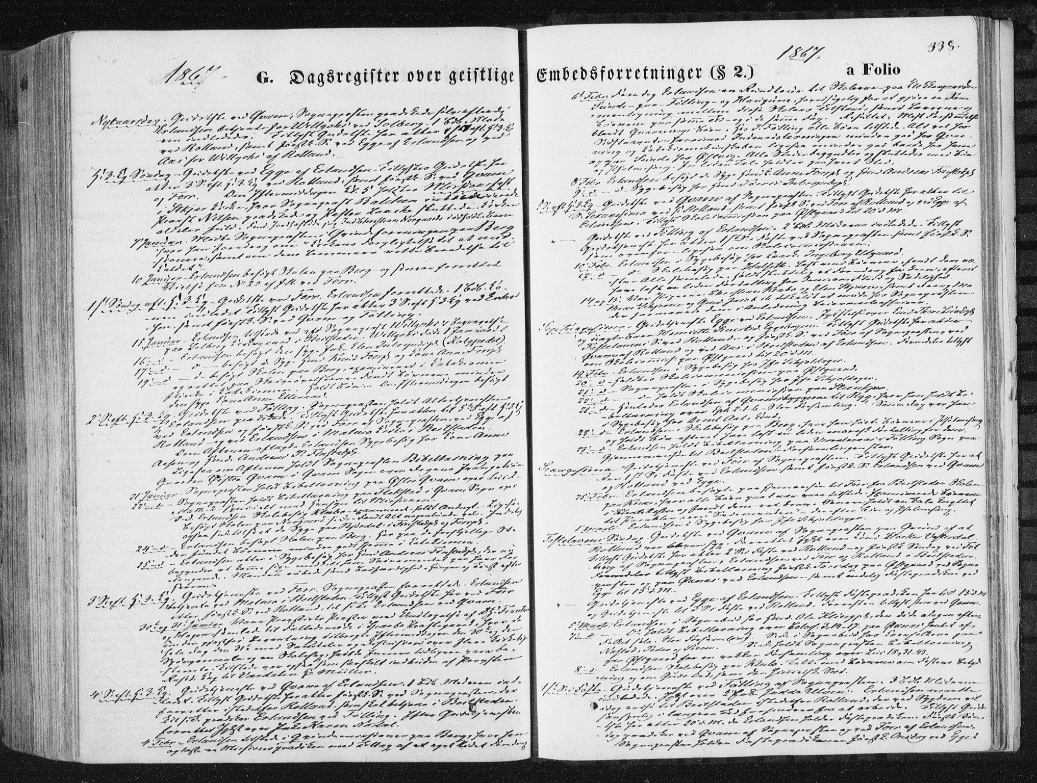 SAT, Ministerialprotokoller, klokkerbøker og fødselsregistre - Nord-Trøndelag, 746/L0447: Ministerialbok nr. 746A06, 1860-1877, s. 338