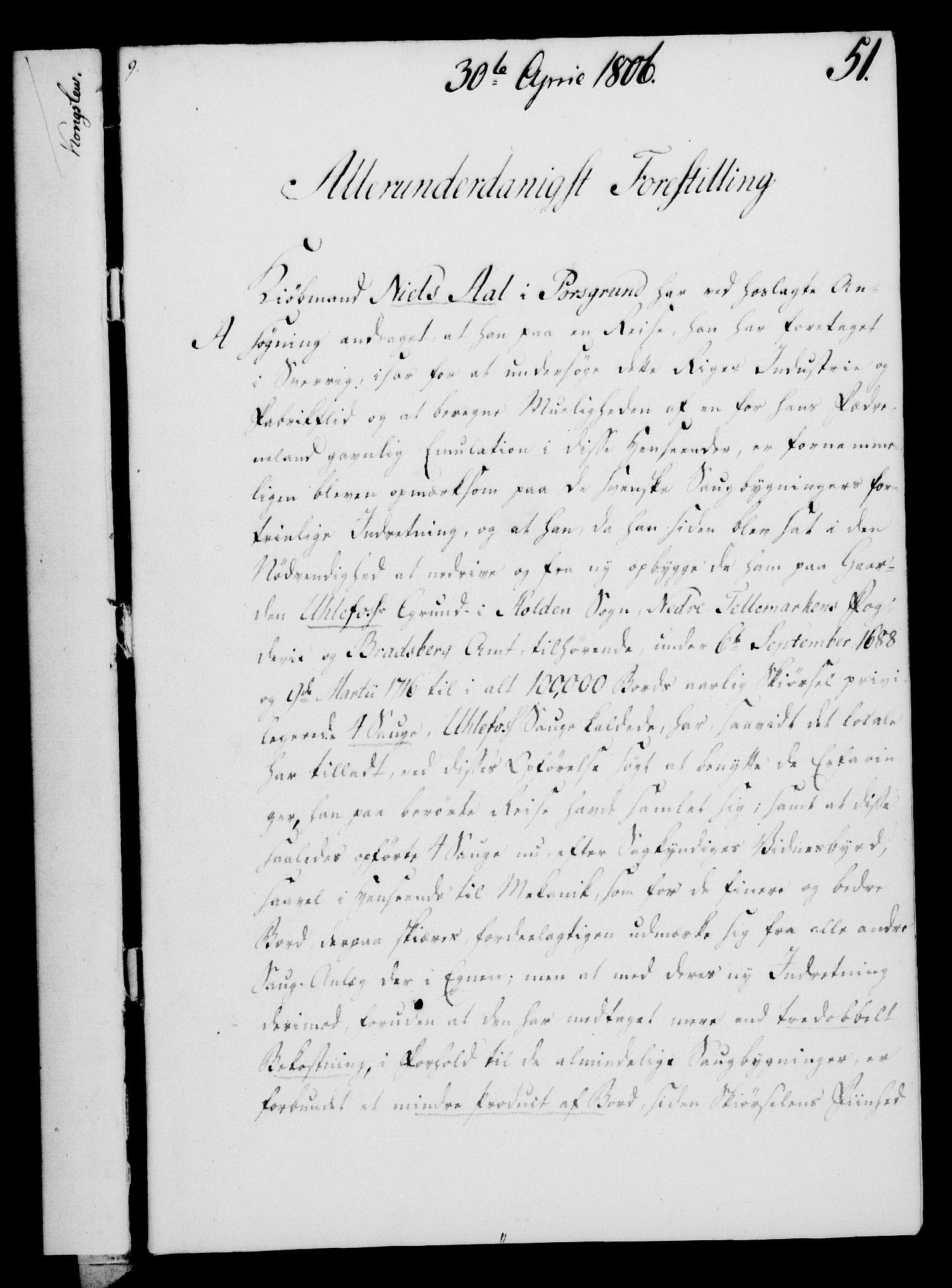 RA, Rentekammeret, Kammerkanselliet, G/Gf/Gfa/L0088: Norsk relasjons- og resolusjonsprotokoll (merket RK 52.88), 1806, s. 296