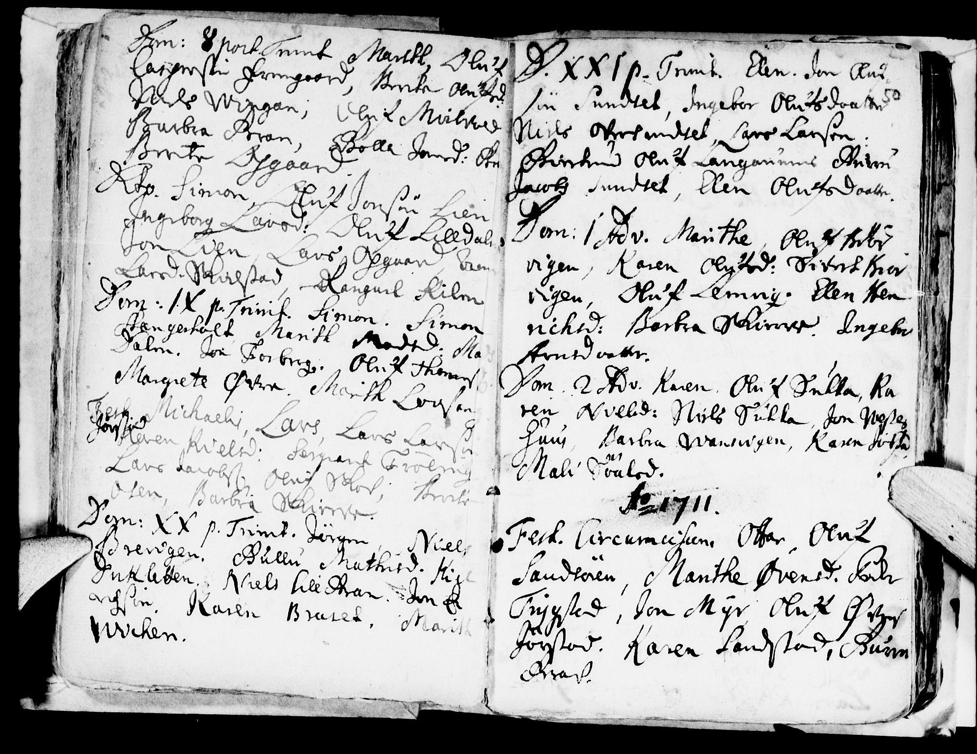 SAT, Ministerialprotokoller, klokkerbøker og fødselsregistre - Nord-Trøndelag, 722/L0214: Ministerialbok nr. 722A01, 1692-1718, s. 50