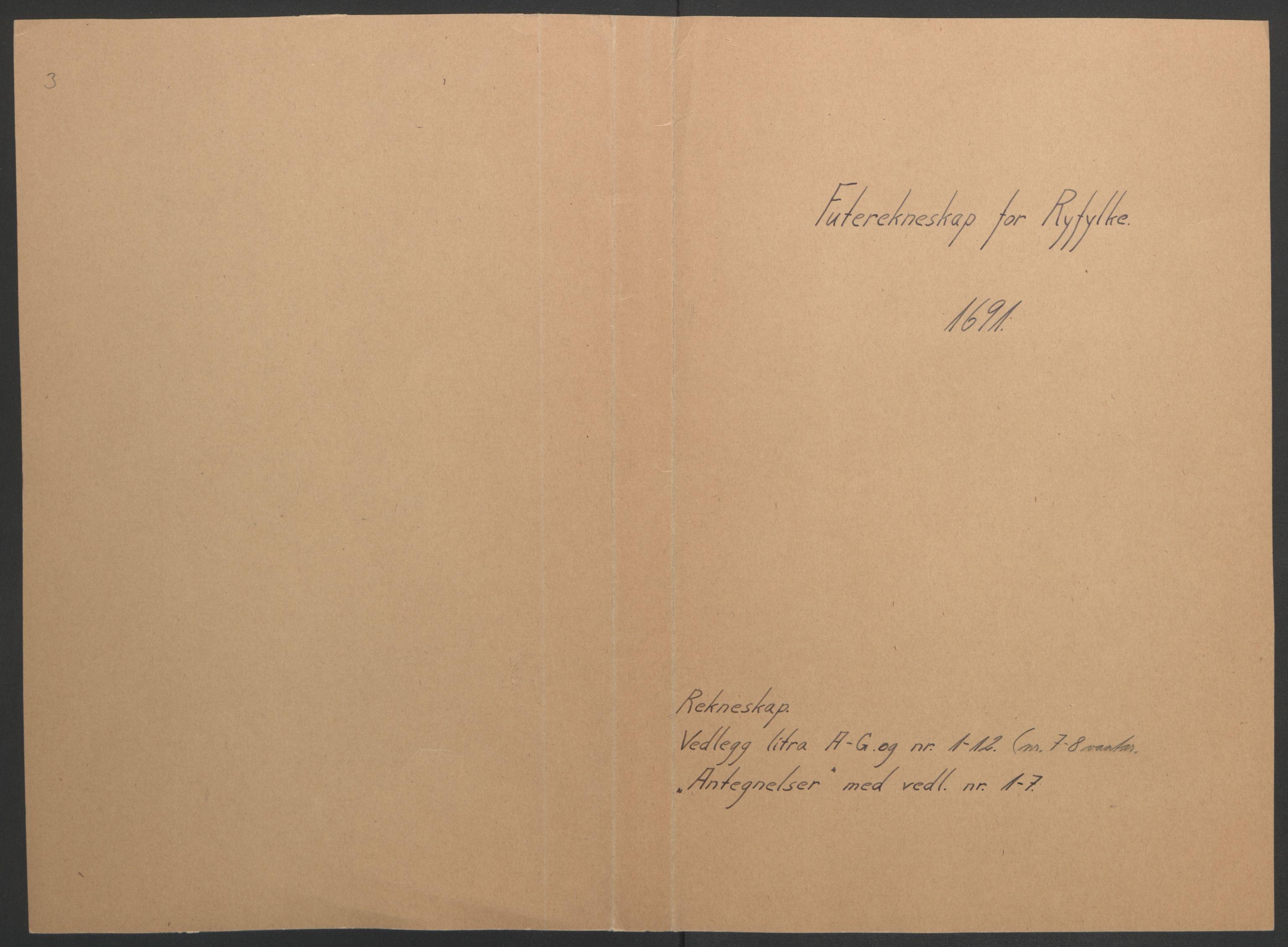 RA, Rentekammeret inntil 1814, Reviderte regnskaper, Fogderegnskap, R47/L2856: Fogderegnskap Ryfylke, 1689-1693, s. 317