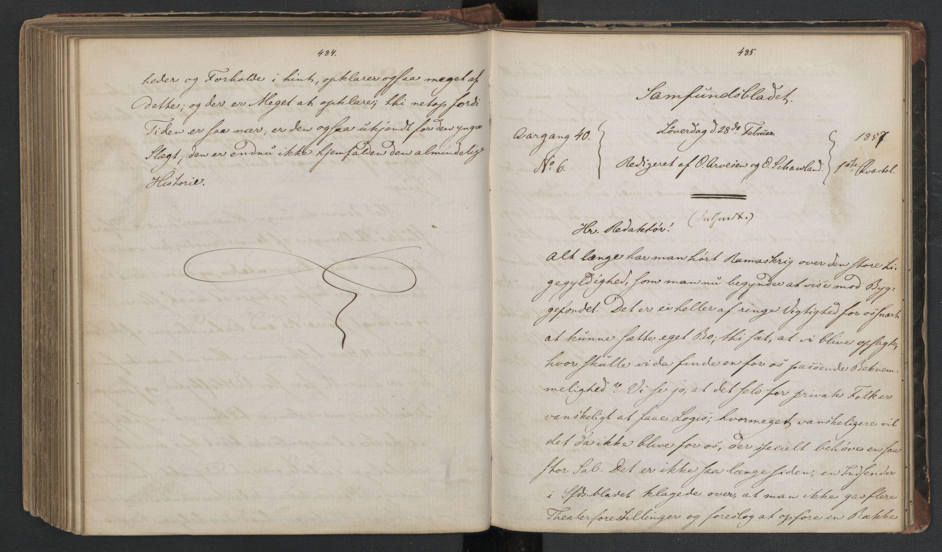 RA, Det Norske Studentersamfund, X/Xa/L0006, 1856-1857, s. 246