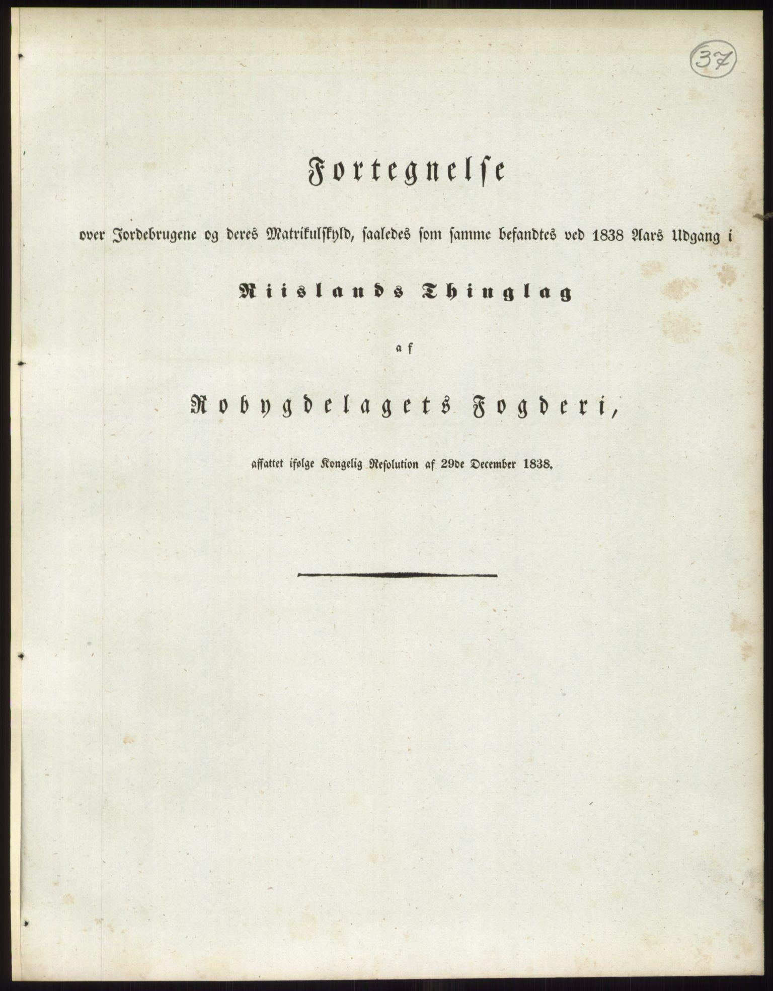RA, 1838-matrikkelen (publikasjon)*, 1838, s. 37