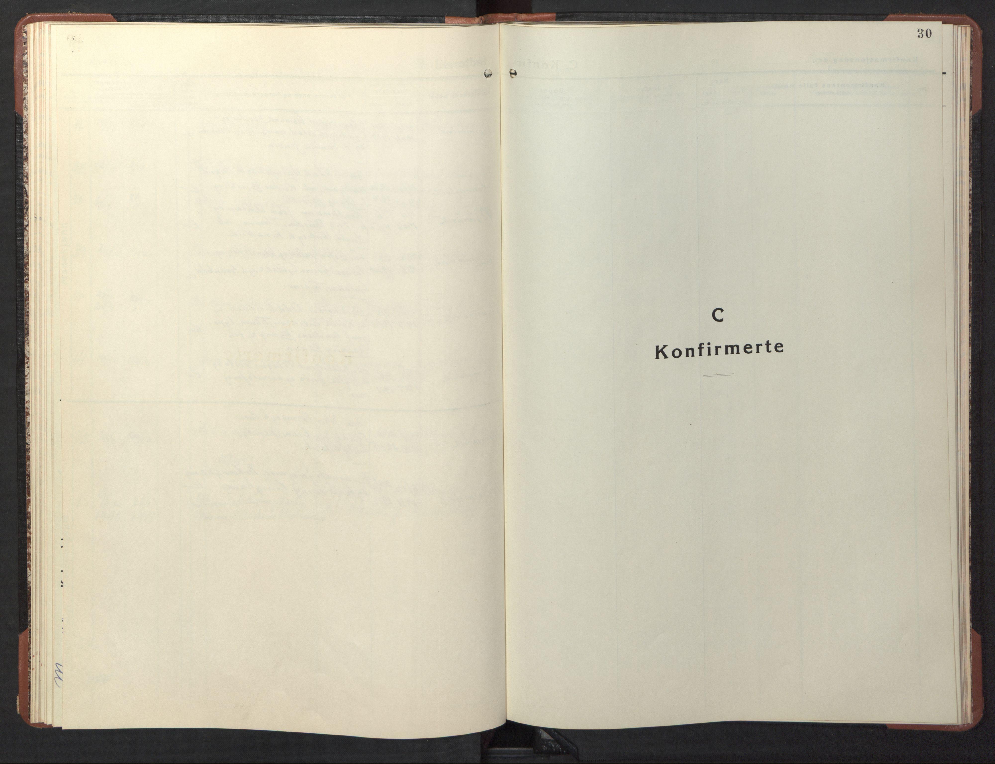 SAT, Ministerialprotokoller, klokkerbøker og fødselsregistre - Sør-Trøndelag, 617/L0433: Klokkerbok nr. 617C04, 1942-1947, s. 30