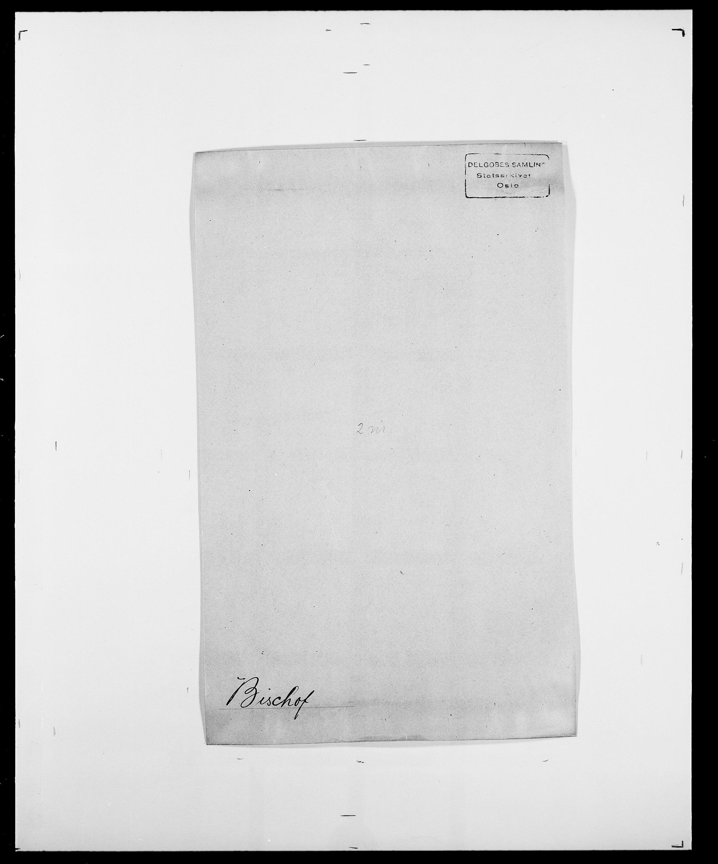 SAO, Delgobe, Charles Antoine - samling, D/Da/L0004: Bergendahl - Blære, s. 375
