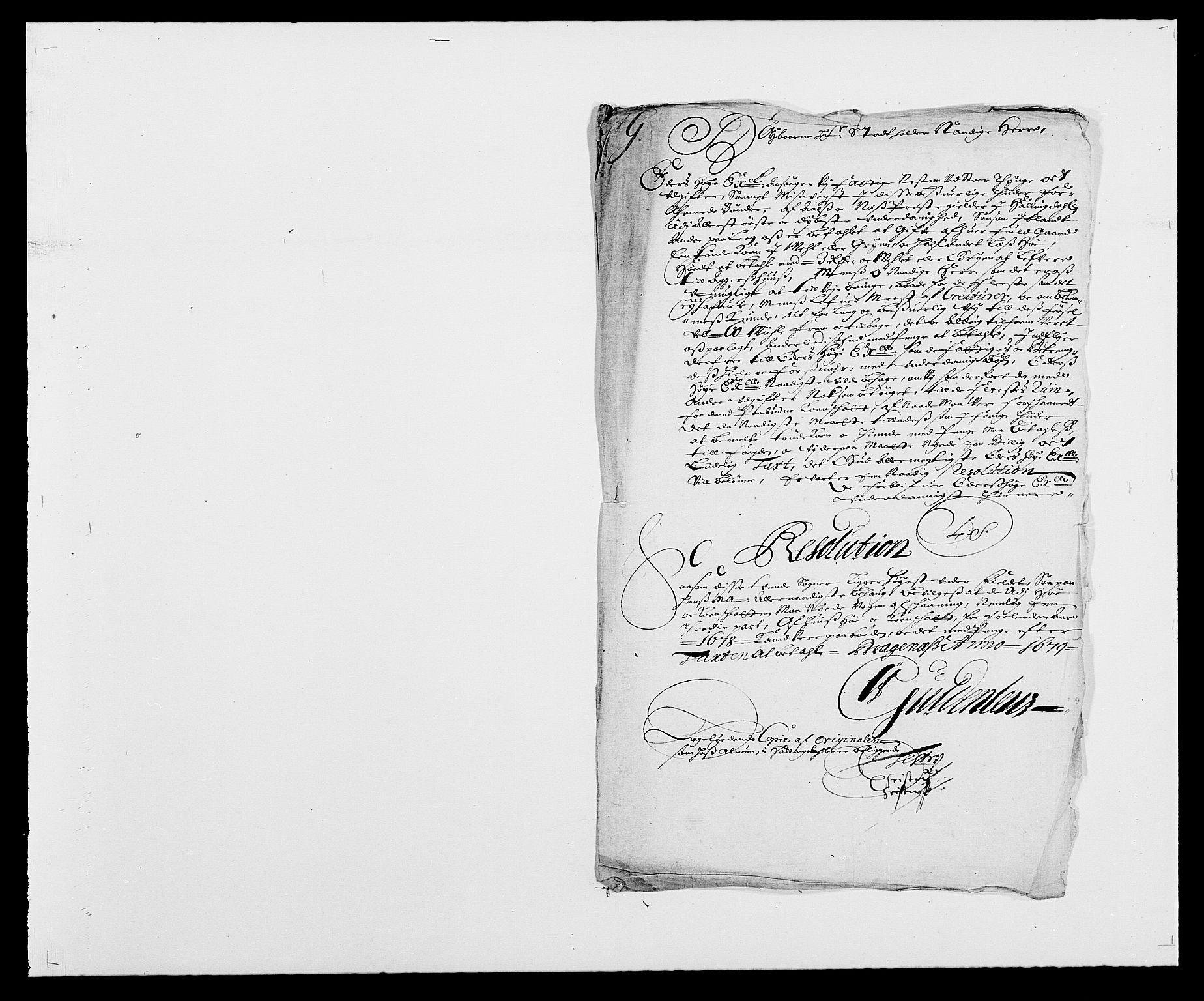 RA, Rentekammeret inntil 1814, Reviderte regnskaper, Fogderegnskap, R21/L1443: Fogderegnskap Ringerike og Hallingdal, 1678-1680, s. 125