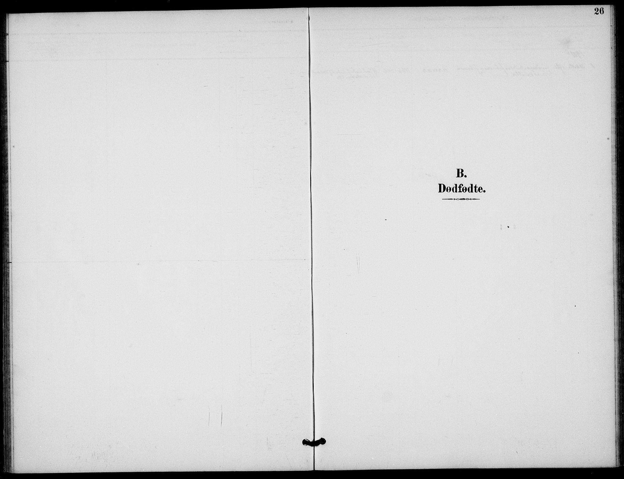 SAST, Finnøy sokneprestkontor, H/Ha/Haa/L0012: Ministerialbok nr. A 12, 1889-1917, s. 26