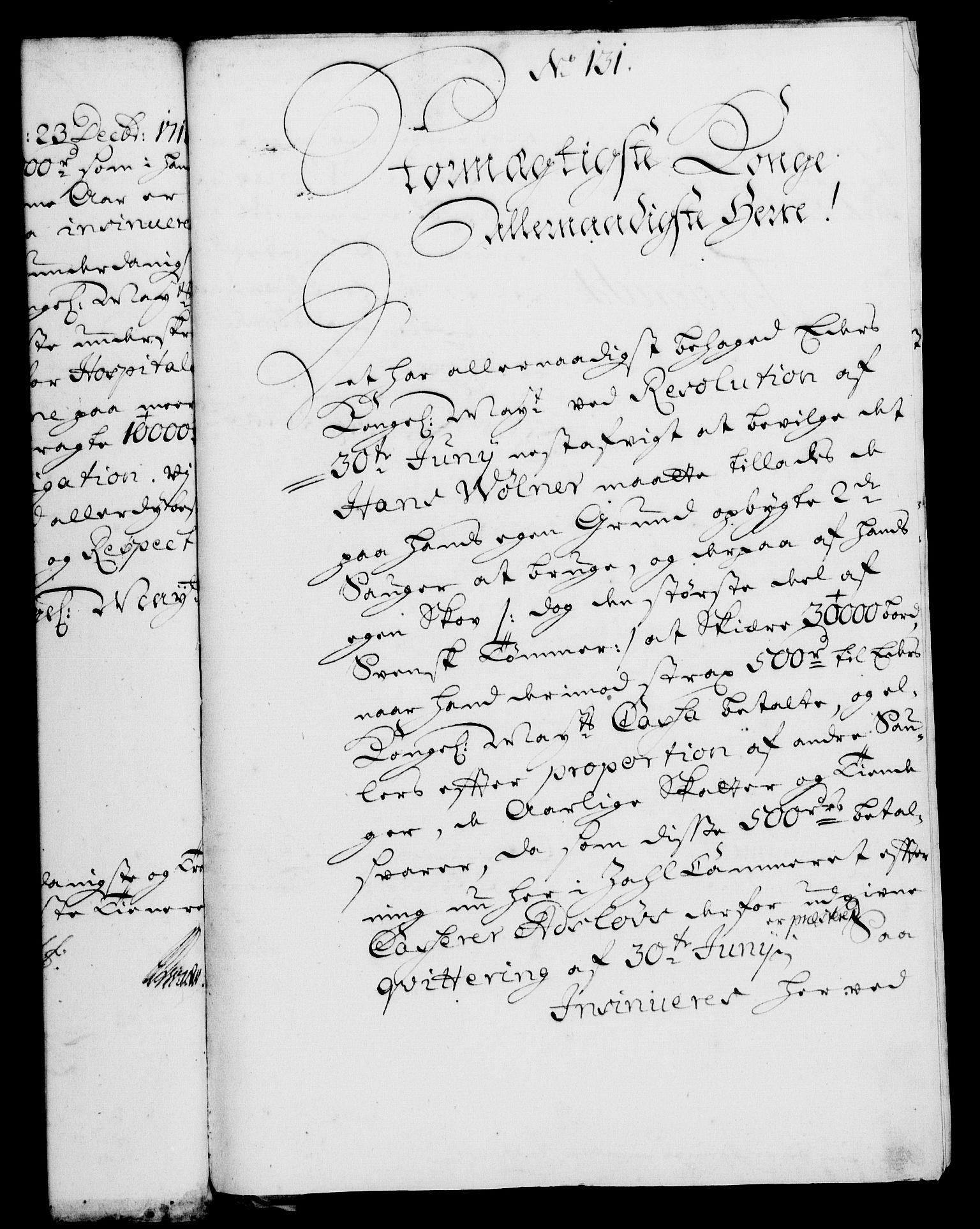 RA, Rentekammeret, Kammerkanselliet, G/Gf/Gfa/L0006: Norsk relasjons- og resolusjonsprotokoll (merket RK 52.6), 1723, s. 805