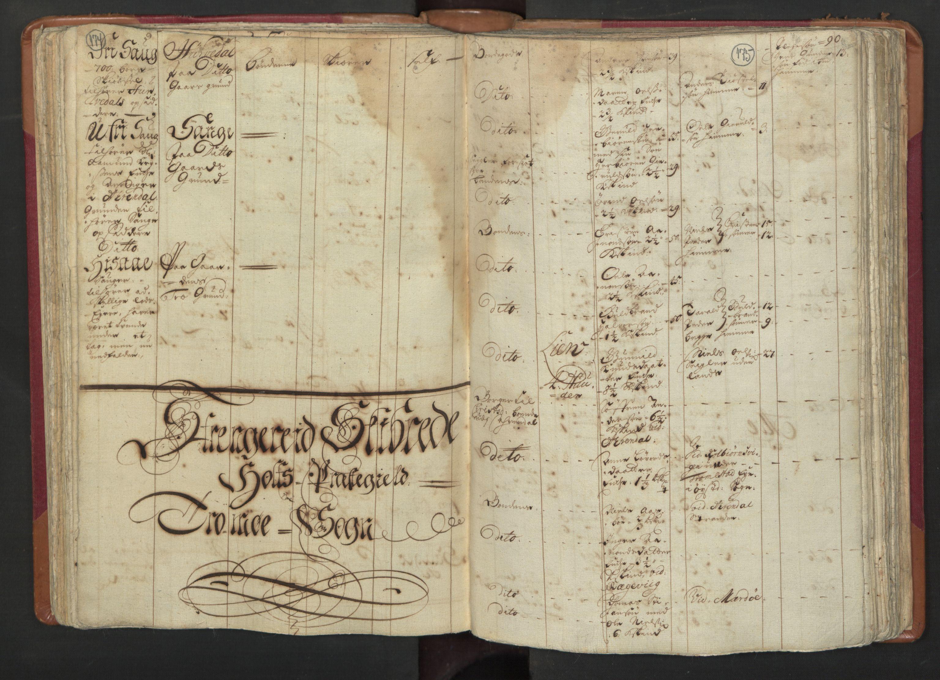 RA, Manntallet 1701, nr. 3: Nedenes fogderi, 1701, s. 174-175
