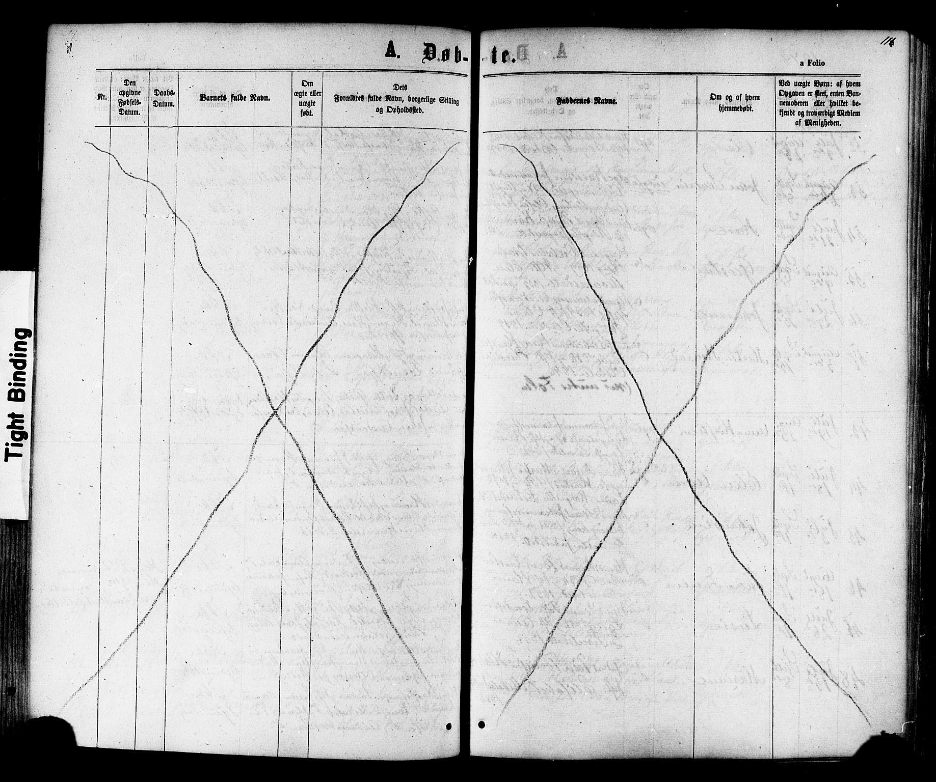 SAT, Ministerialprotokoller, klokkerbøker og fødselsregistre - Nord-Trøndelag, 730/L0284: Ministerialbok nr. 730A09, 1866-1878, s. 116