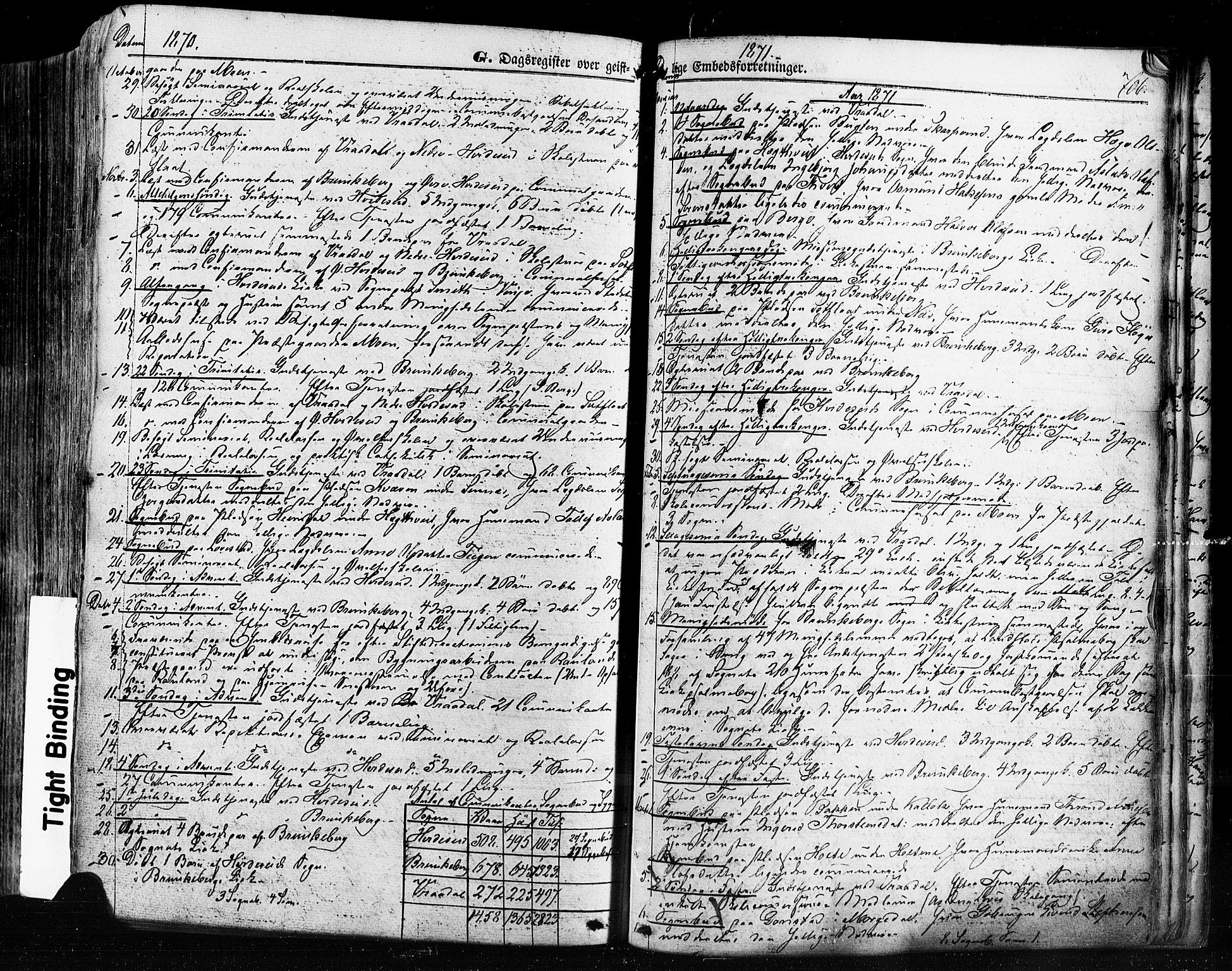 SAKO, Kviteseid kirkebøker, F/Fa/L0007: Ministerialbok nr. I 7, 1859-1881, s. 706