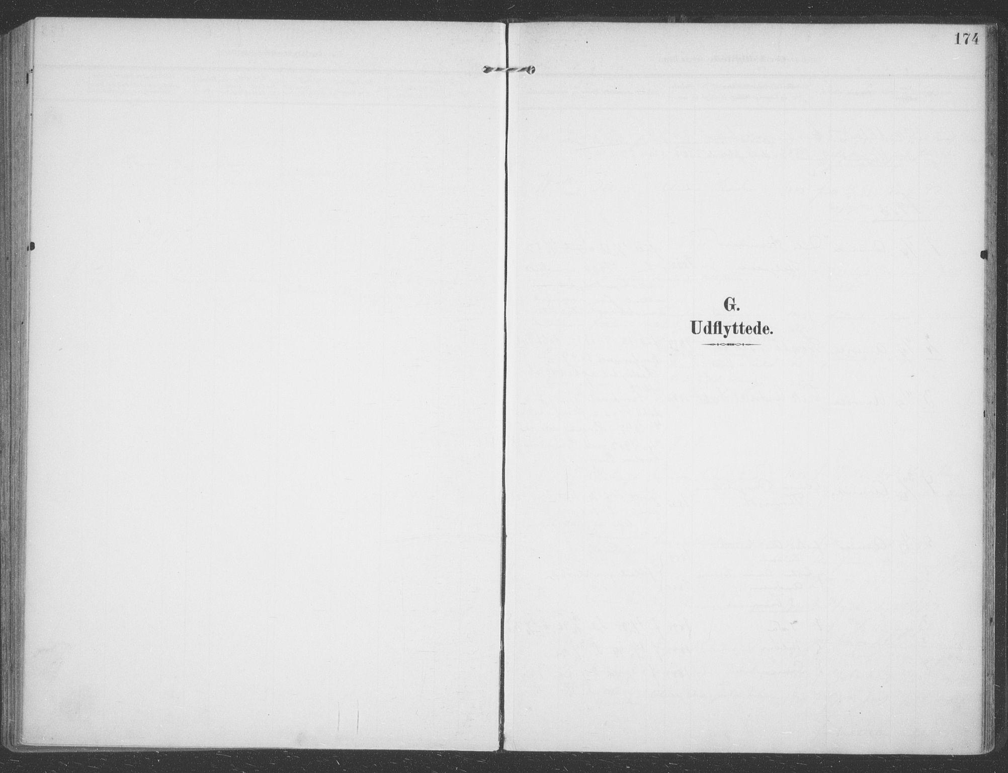 SATØ, Talvik sokneprestkontor, H/Ha/L0017kirke: Ministerialbok nr. 17, 1906-1915, s. 174
