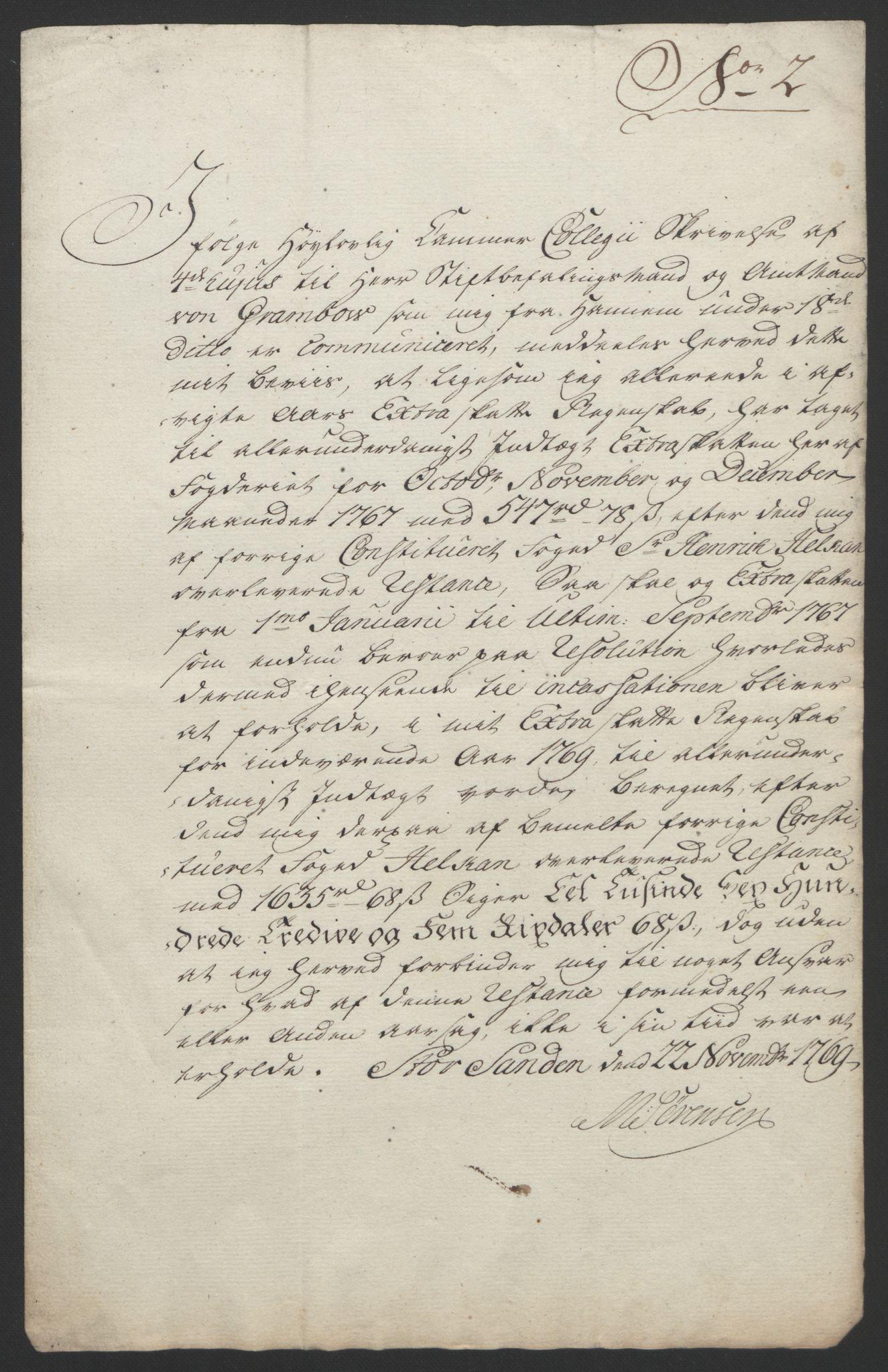 RA, Rentekammeret inntil 1814, Reviderte regnskaper, Fogderegnskap, R61/L4180: Ekstraskatten Strinda og Selbu, 1762-1767, s. 427