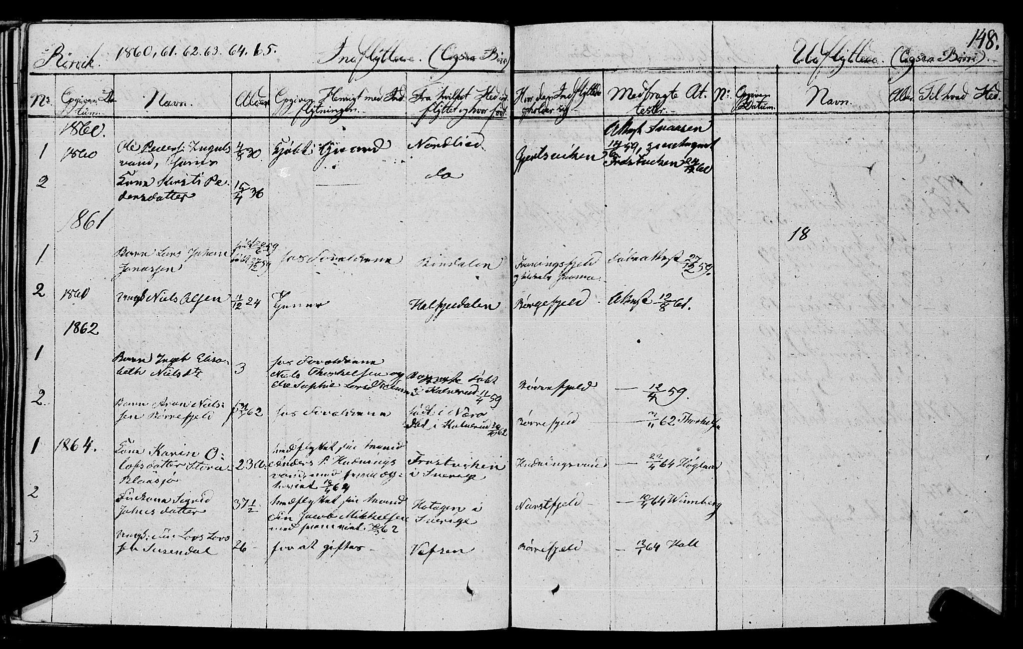 SAT, Ministerialprotokoller, klokkerbøker og fødselsregistre - Nord-Trøndelag, 762/L0538: Ministerialbok nr. 762A02 /1, 1833-1879, s. 148