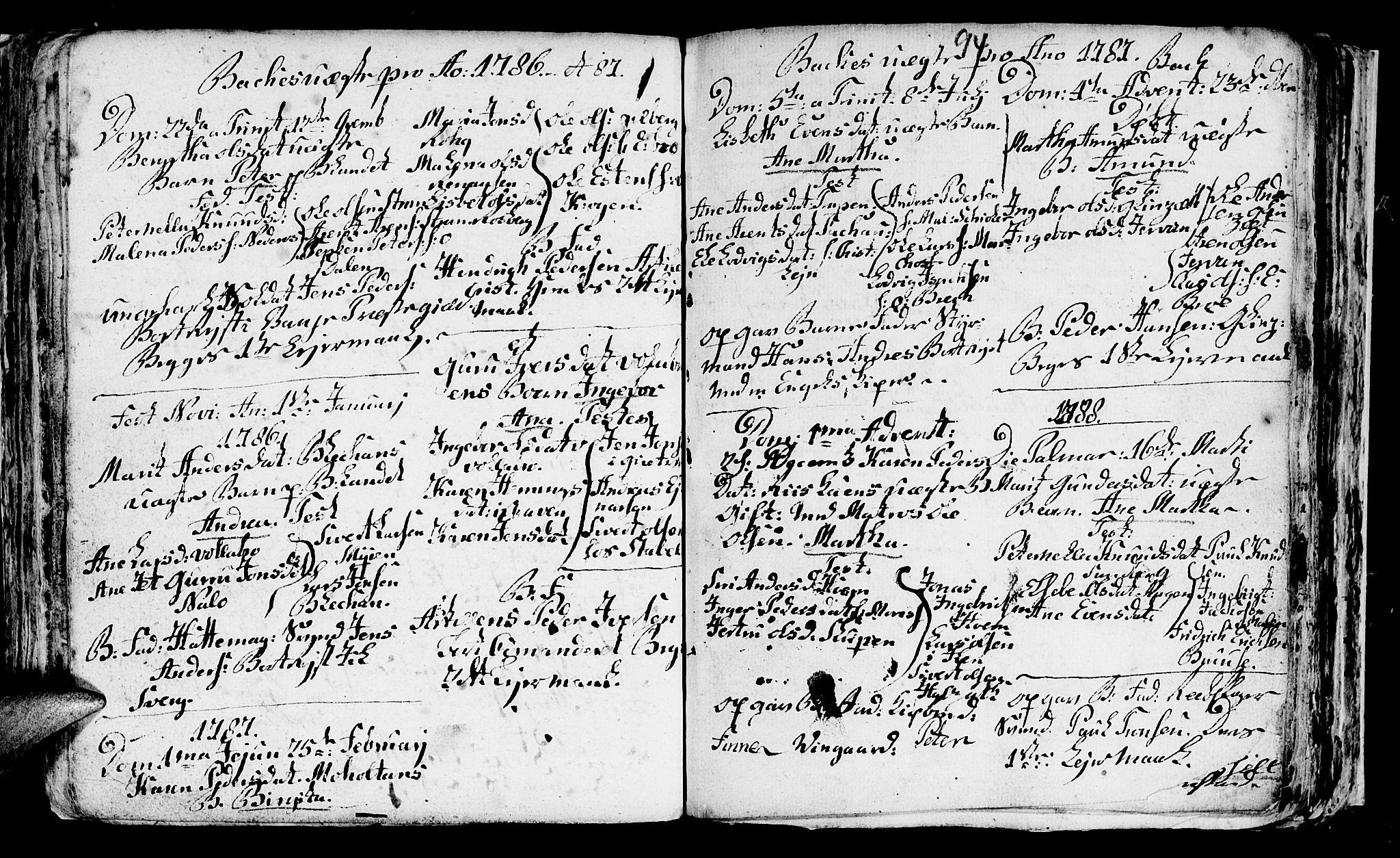 SAT, Ministerialprotokoller, klokkerbøker og fødselsregistre - Sør-Trøndelag, 604/L0218: Klokkerbok nr. 604C01, 1754-1819, s. 94