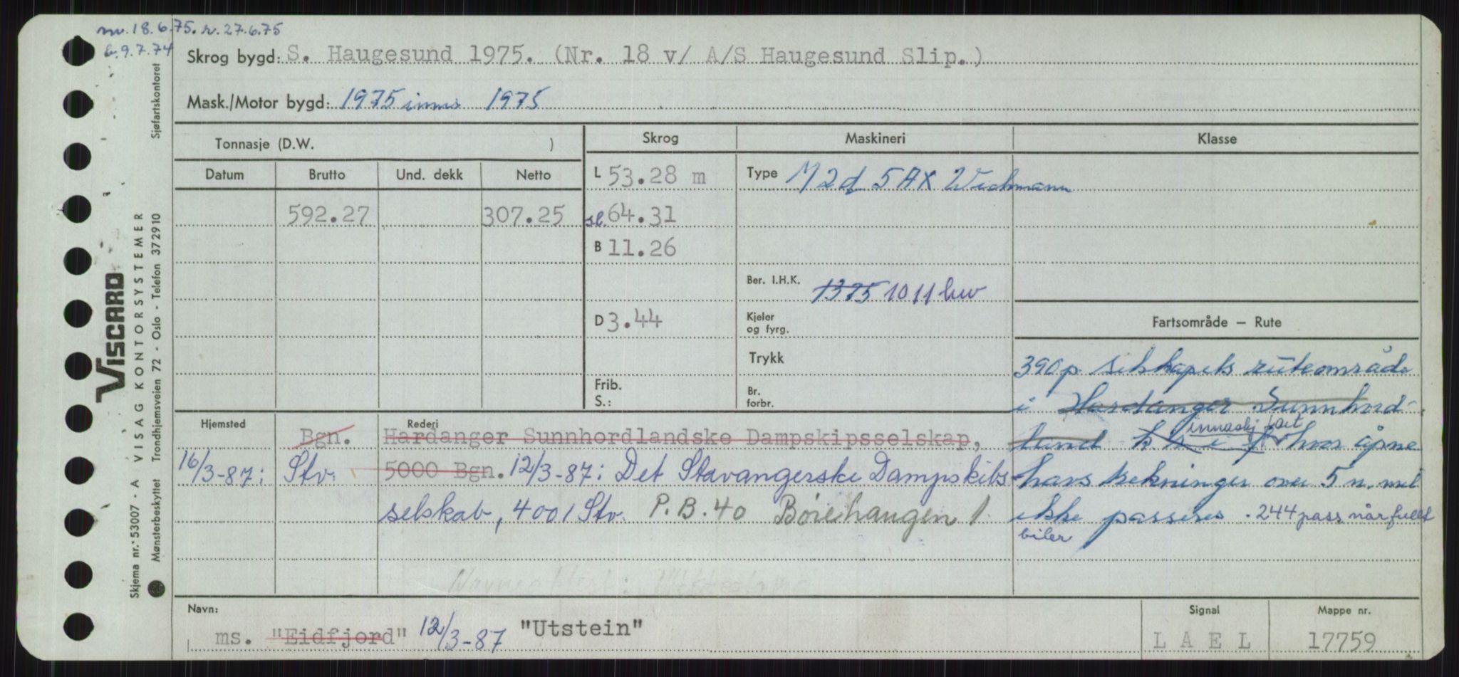 RA, Sjøfartsdirektoratet med forløpere, Skipsmålingen, H/Ha/L0006: Fartøy, Sver-Å, s. 85