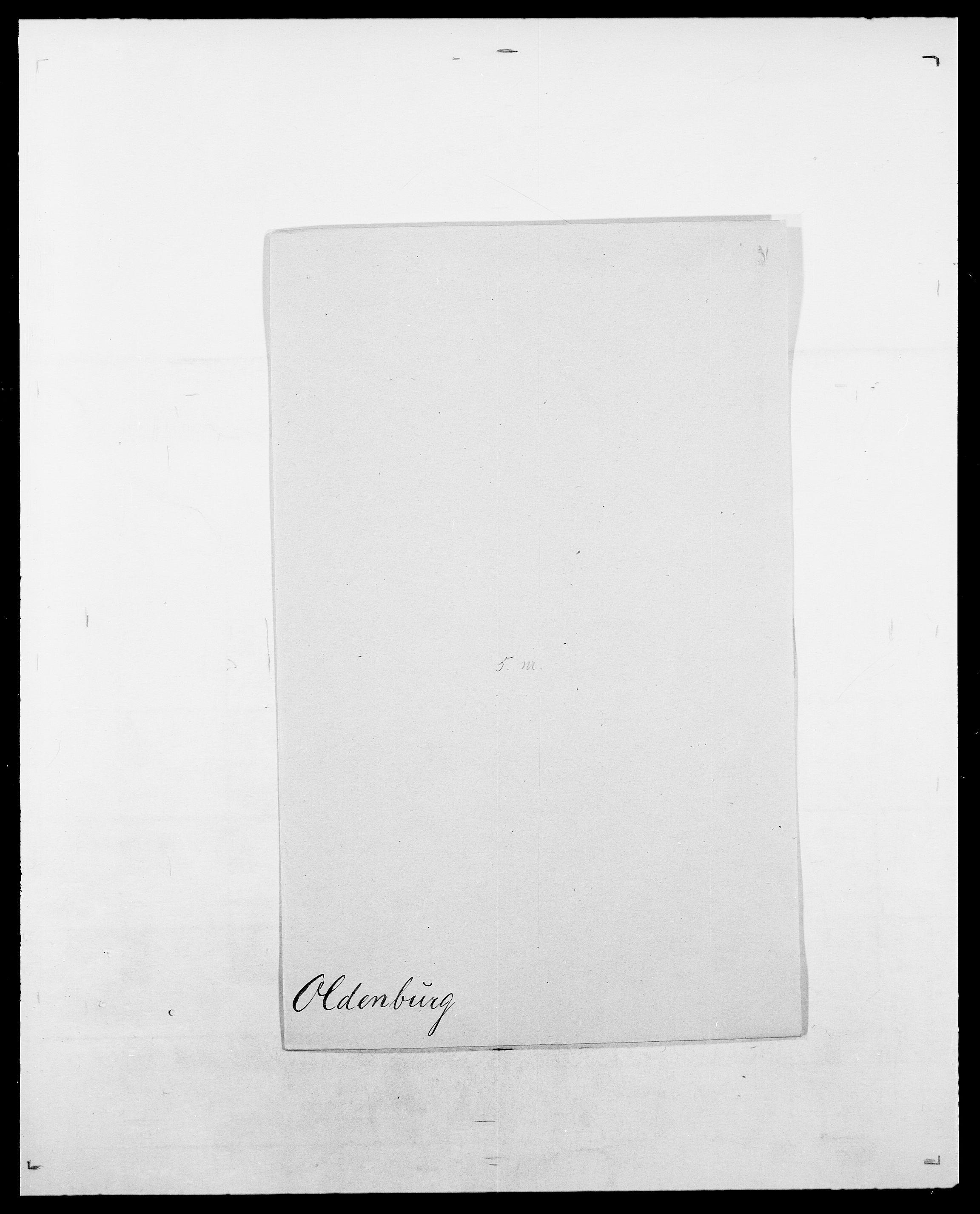 SAO, Delgobe, Charles Antoine - samling, D/Da/L0029: Obel - Oxholm, s. 94