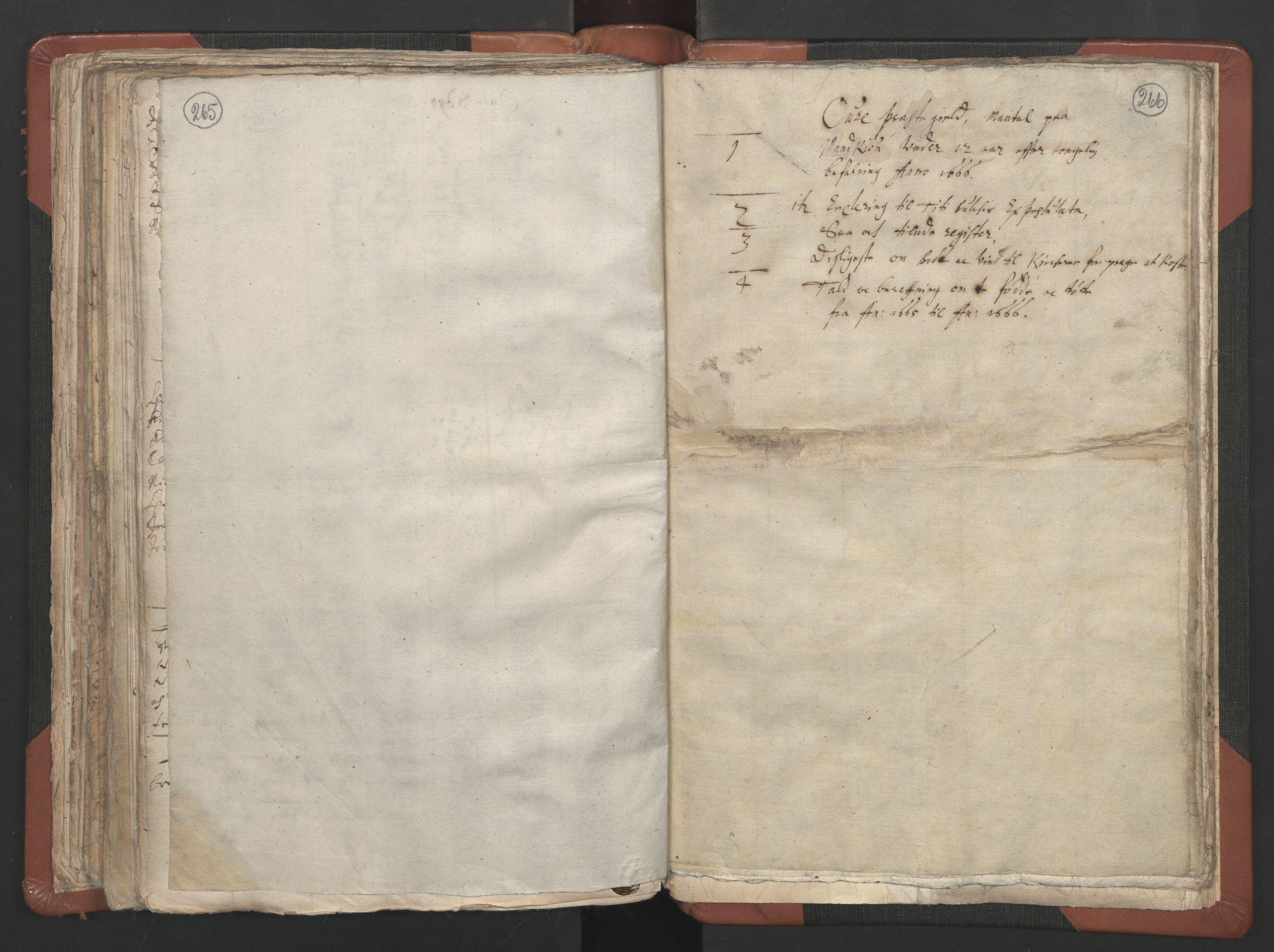 RA, Sogneprestenes manntall 1664-1666, nr. 29: Nordmøre prosti, 1664-1666, s. 265-266