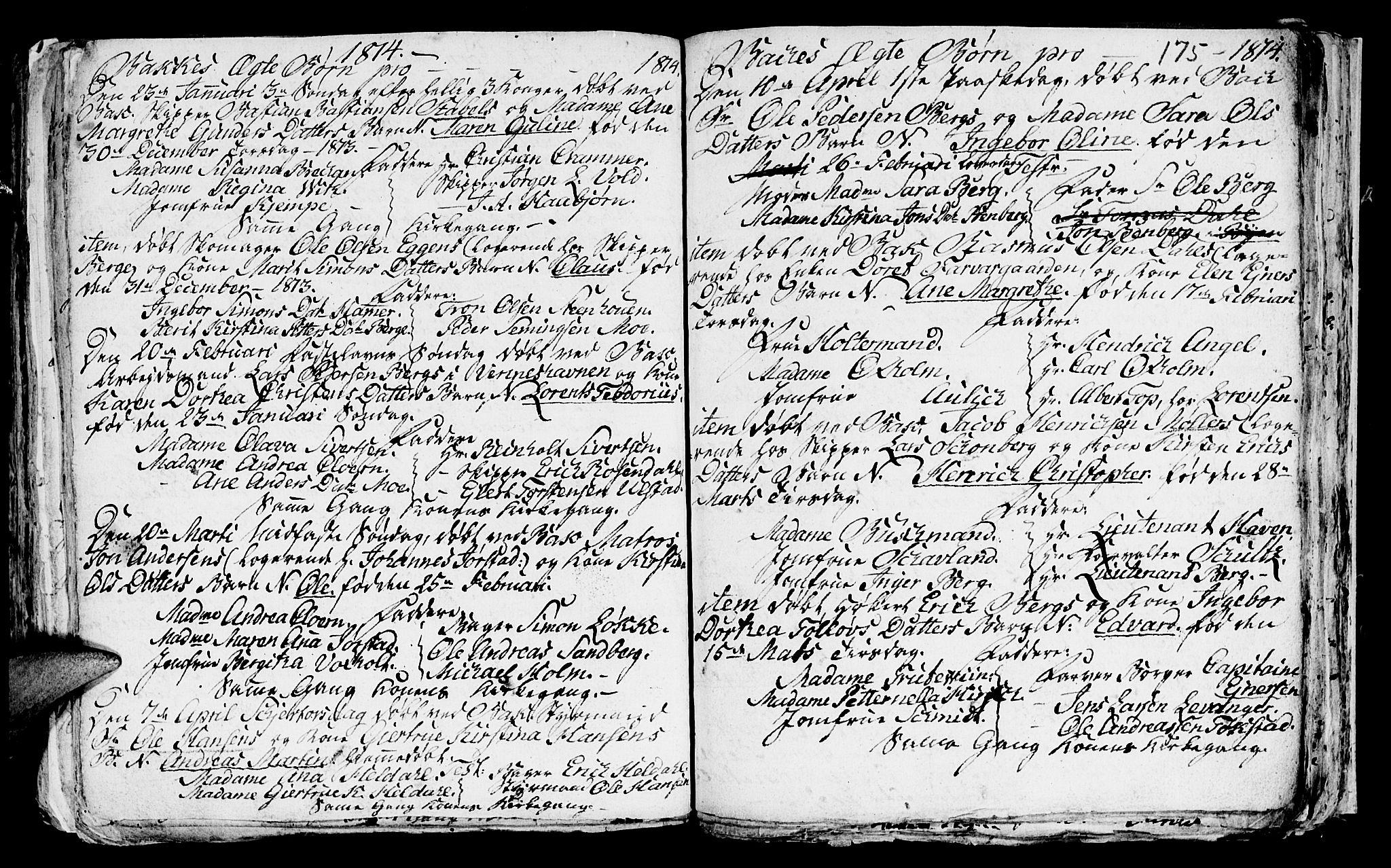 SAT, Ministerialprotokoller, klokkerbøker og fødselsregistre - Sør-Trøndelag, 604/L0218: Klokkerbok nr. 604C01, 1754-1819, s. 175