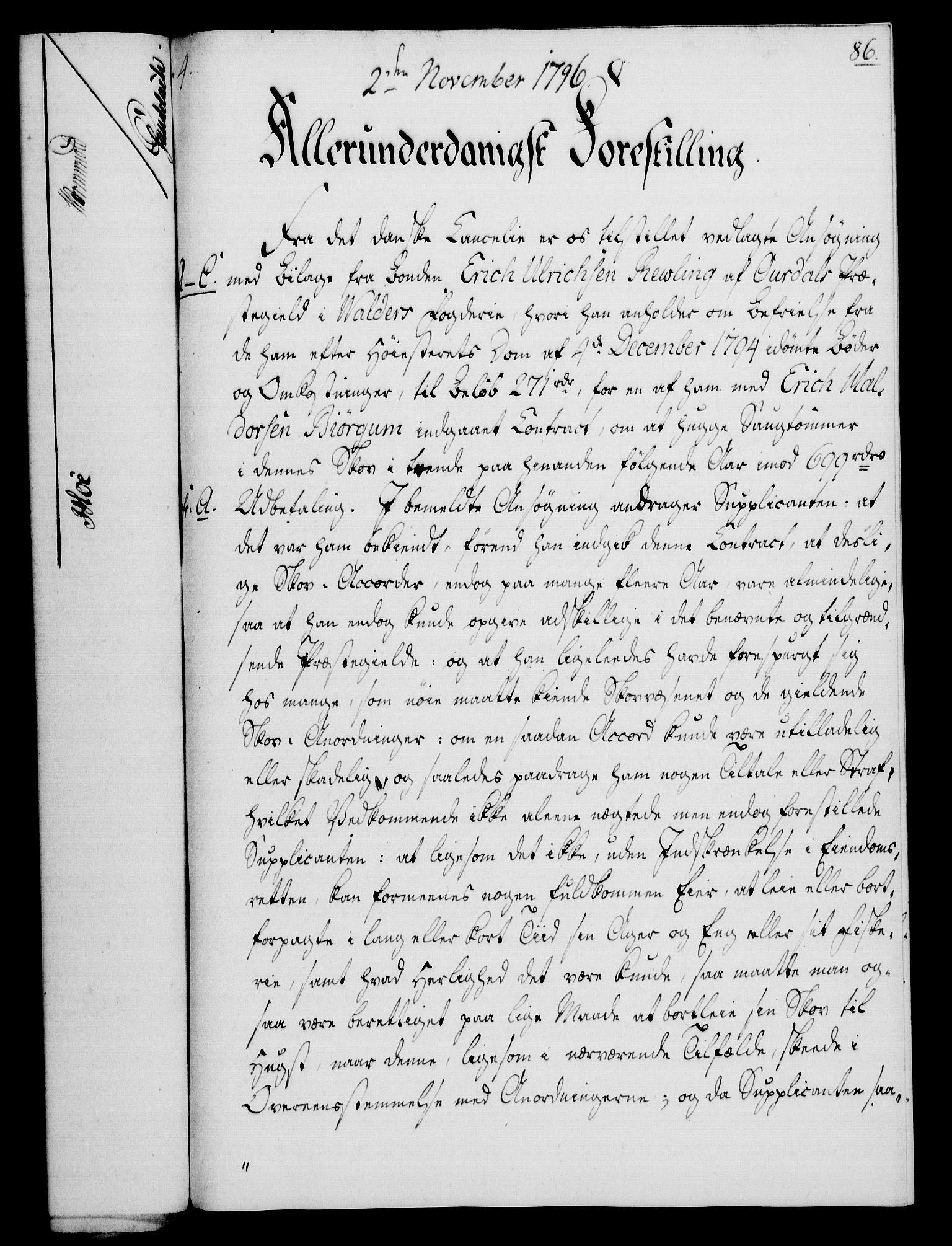 RA, Rentekammeret, Kammerkanselliet, G/Gf/Gfa/L0078: Norsk relasjons- og resolusjonsprotokoll (merket RK 52.78), 1796, s. 454