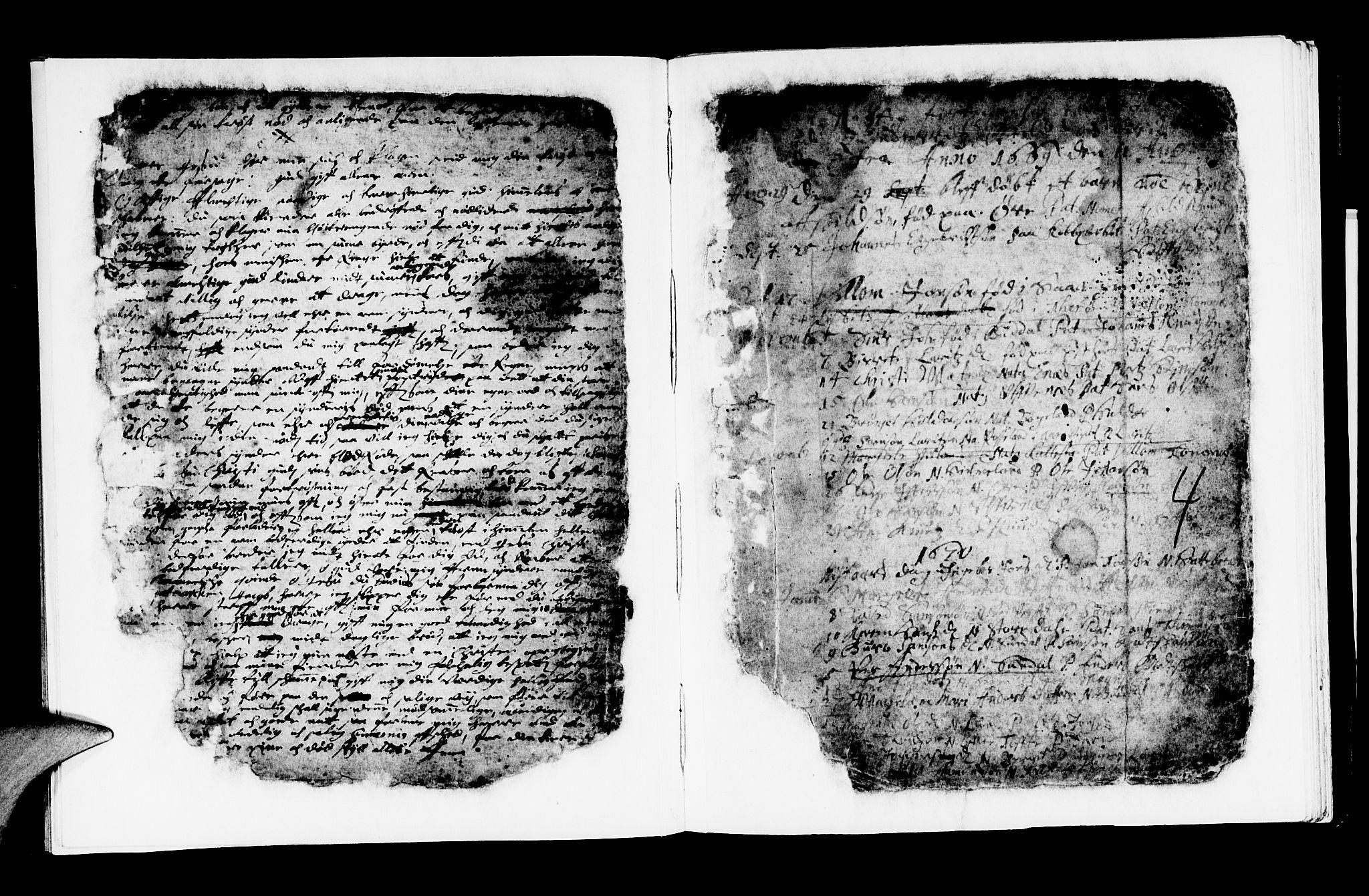 SAB, Kvinnherad Sokneprestembete, H/Haa: Ministerialbok nr. A 1, 1669-1709, s. 4