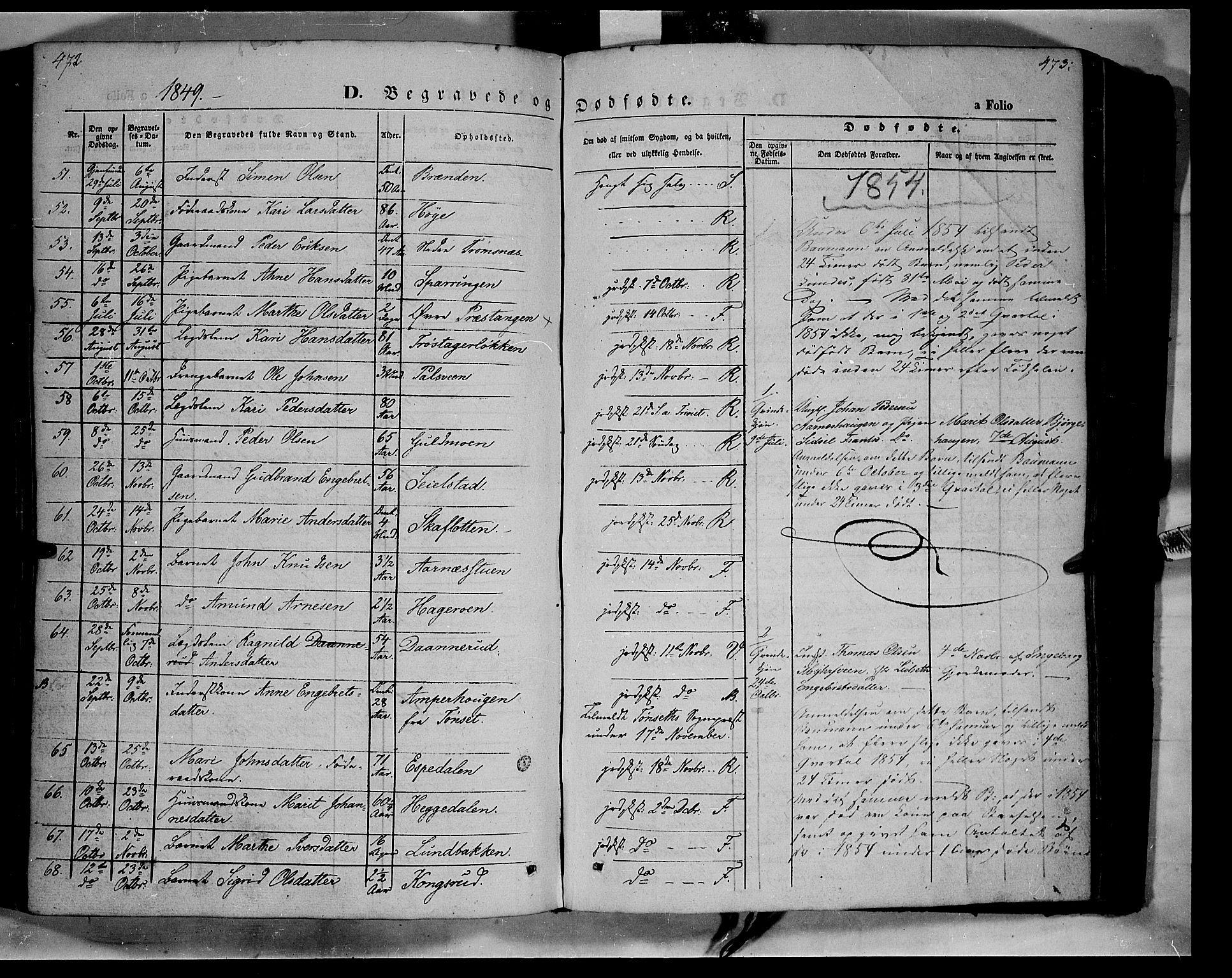 SAH, Ringebu prestekontor, Ministerialbok nr. 6, 1848-1859, s. 472-473