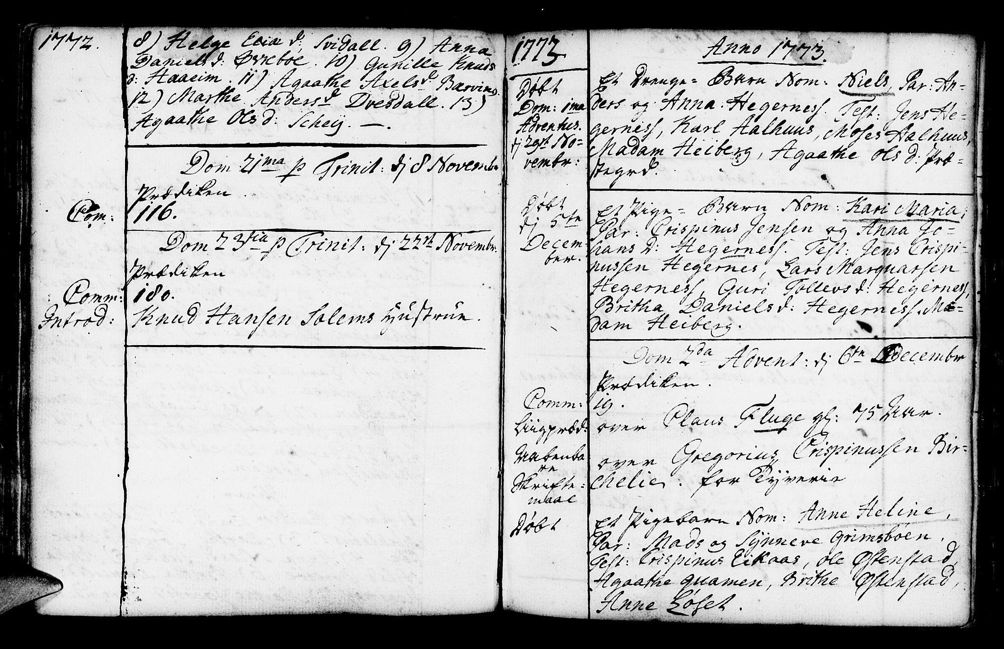 SAB, Jølster Sokneprestembete, Ministerialbok nr. A 3, 1748-1789, s. 136