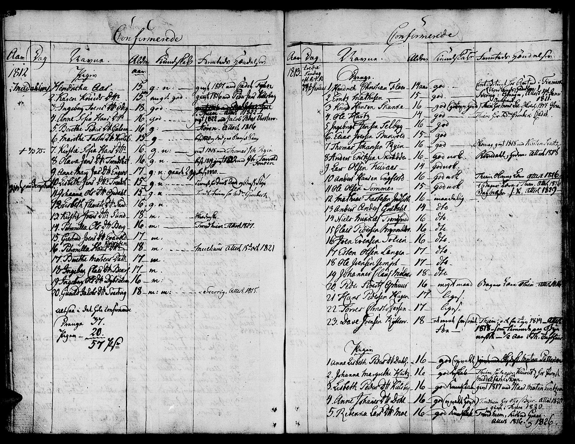 SAT, Ministerialprotokoller, klokkerbøker og fødselsregistre - Sør-Trøndelag, 681/L0928: Ministerialbok nr. 681A06, 1806-1816, s. 258-259
