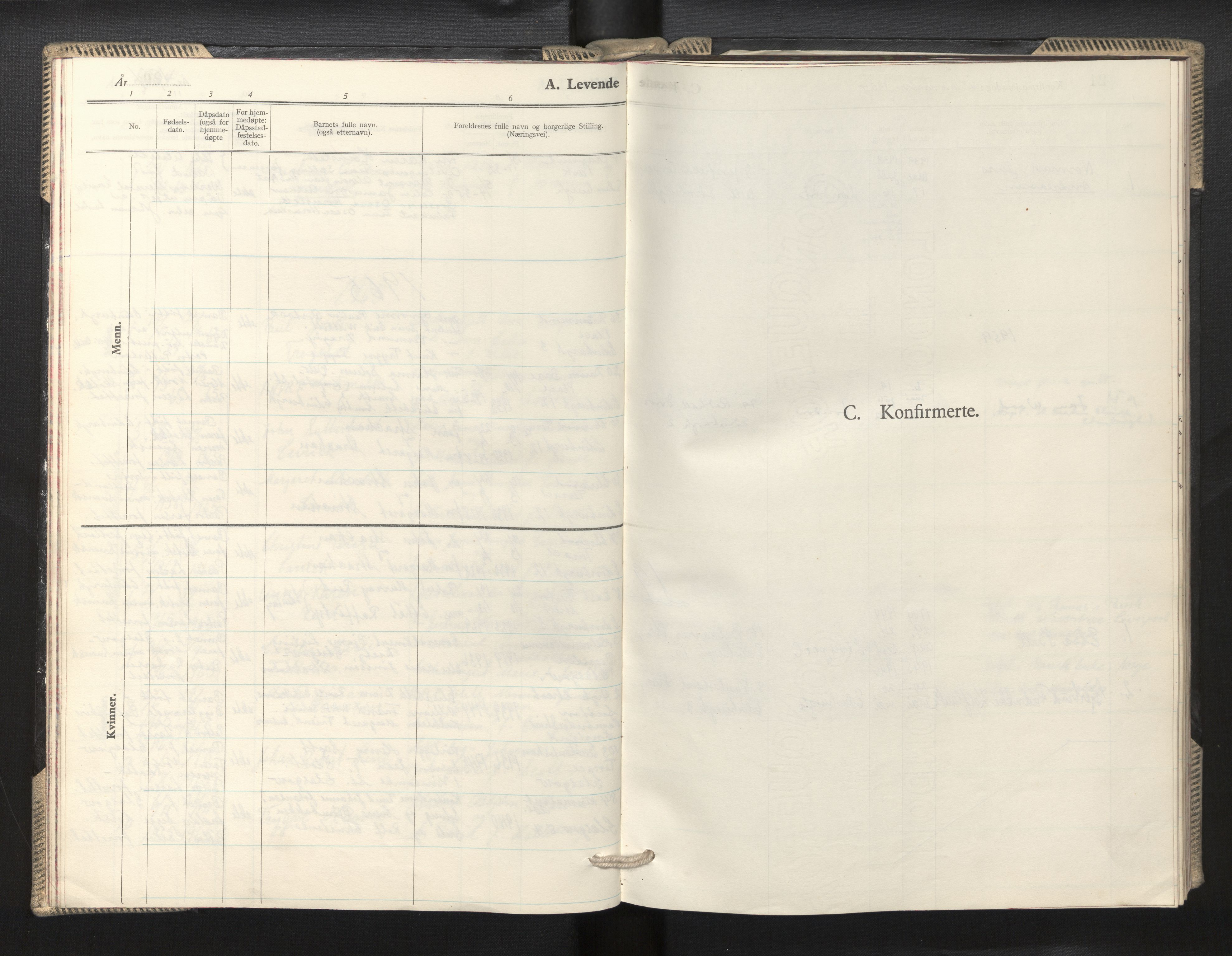 SAB, Den norske sjømannsmisjon i utlandet/Skotske havner (Leith, Glasgow), H/Ha/Haa/L0005: Ministerialbok nr. A 5, 1944-1965