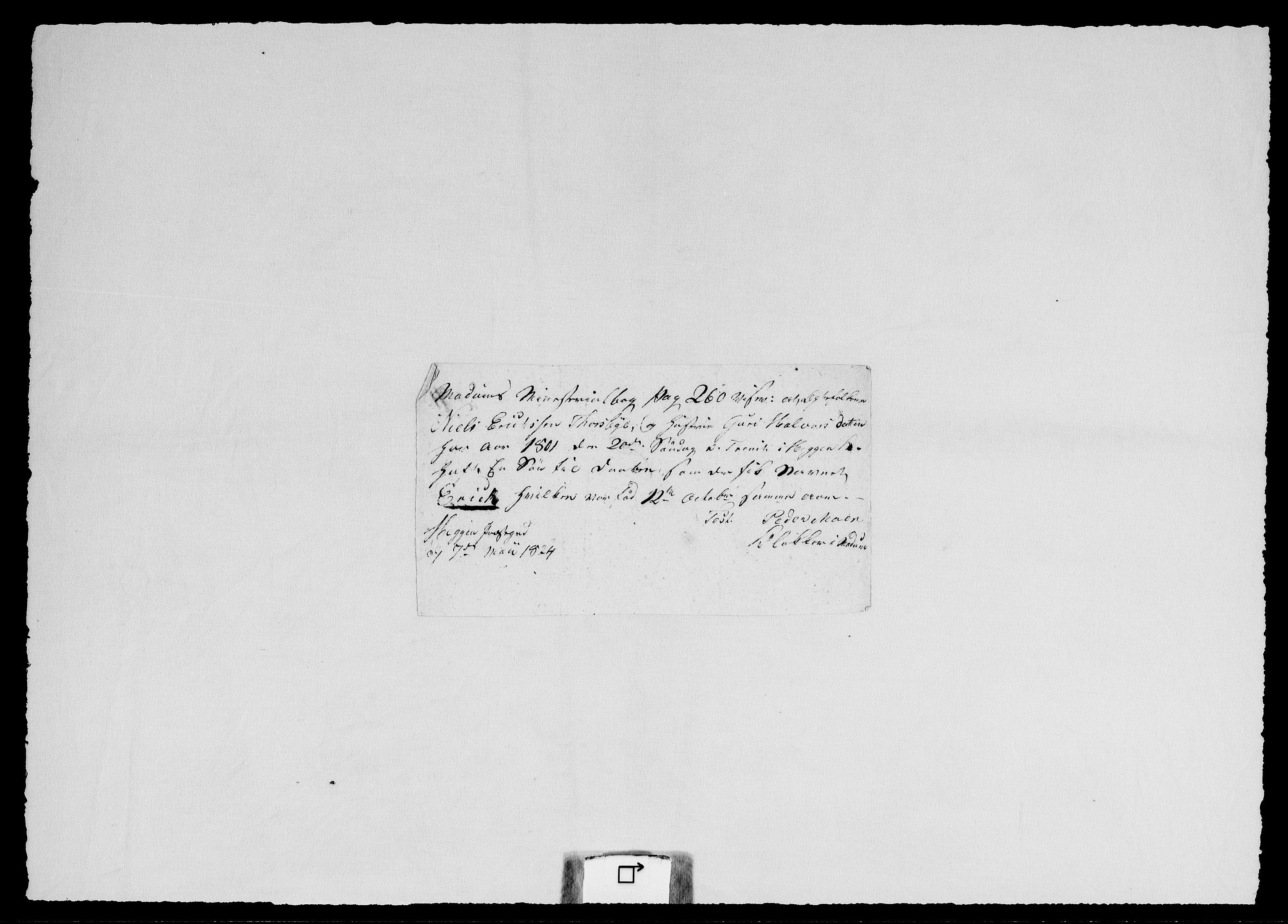 RA, Modums Blaafarveværk, G/Gg/L0373, 1822-1848, s. 2