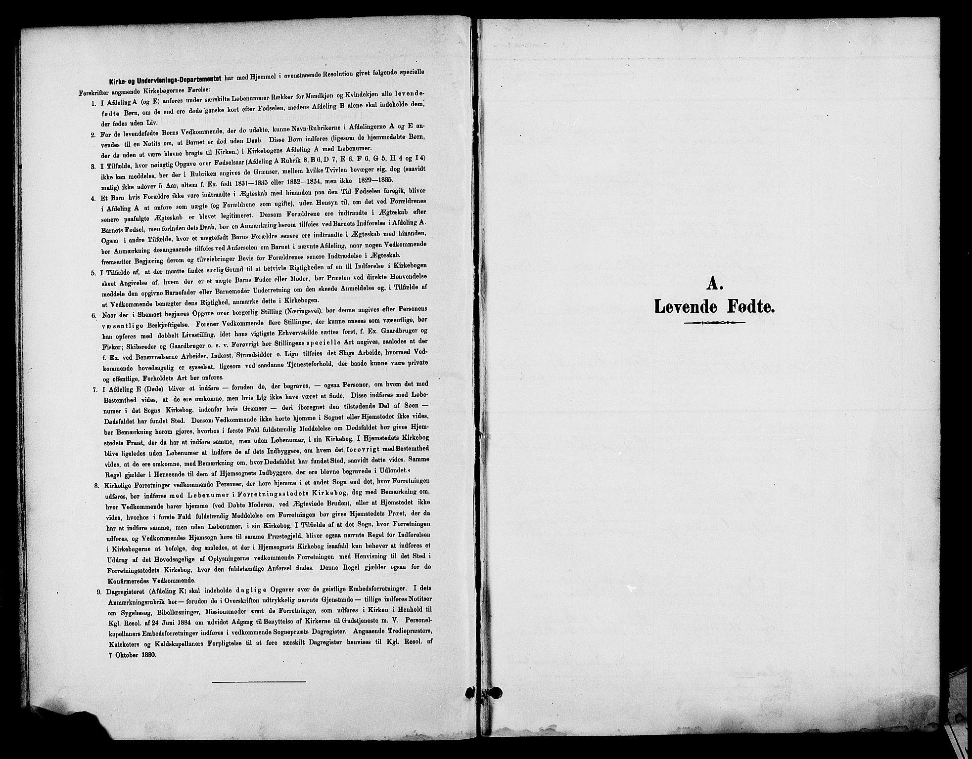 SAH, Fåberg prestekontor, Klokkerbok nr. 8, 1891-1900