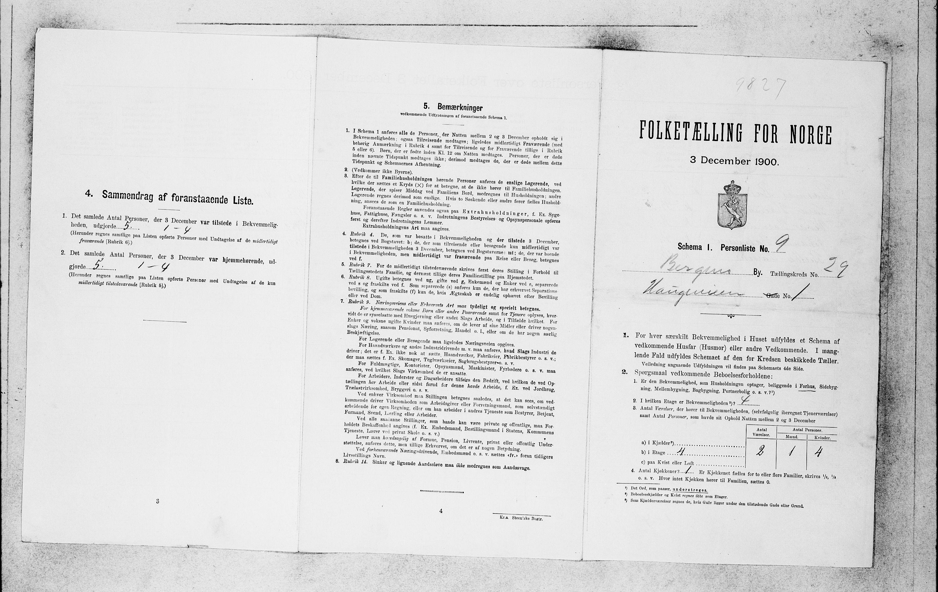SAB, Folketelling 1900 for 1301 Bergen kjøpstad, 1900, s. 6120