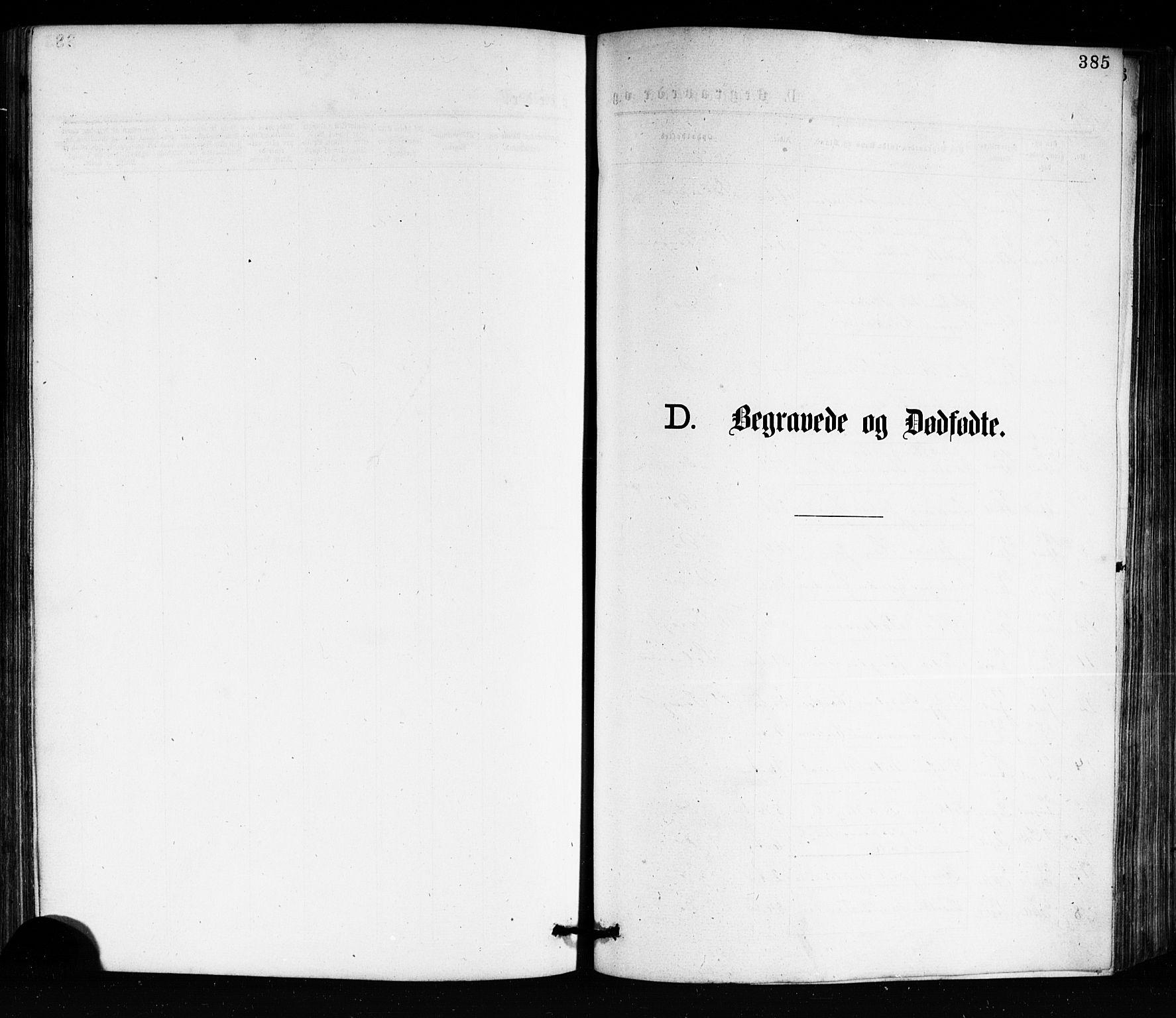 SAKO, Porsgrunn kirkebøker , G/Ga/L0003: Klokkerbok nr. I 3, 1877-1915, s. 385