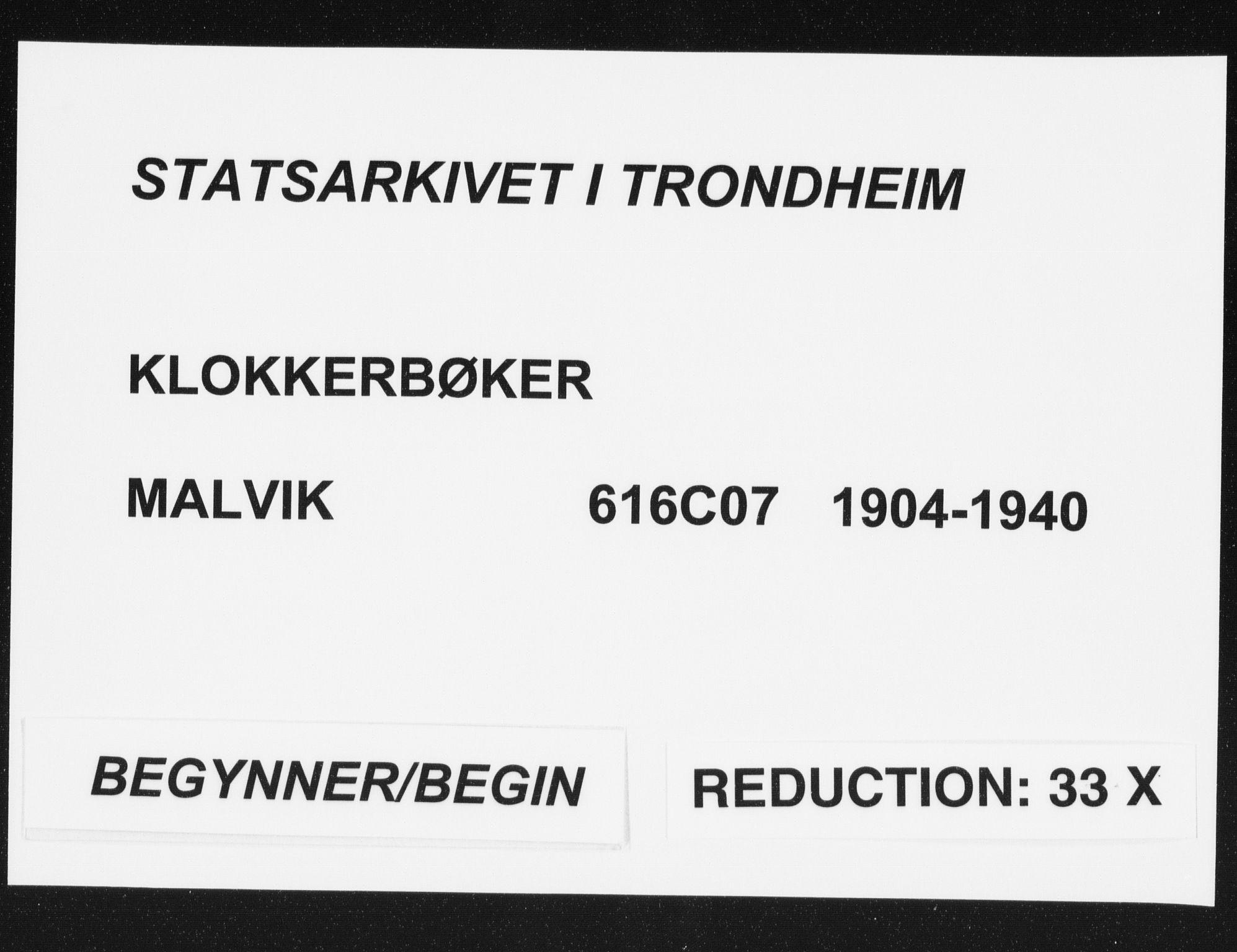 SAT, Ministerialprotokoller, klokkerbøker og fødselsregistre - Sør-Trøndelag, 616/L0424: Klokkerbok nr. 616C07, 1904-1940