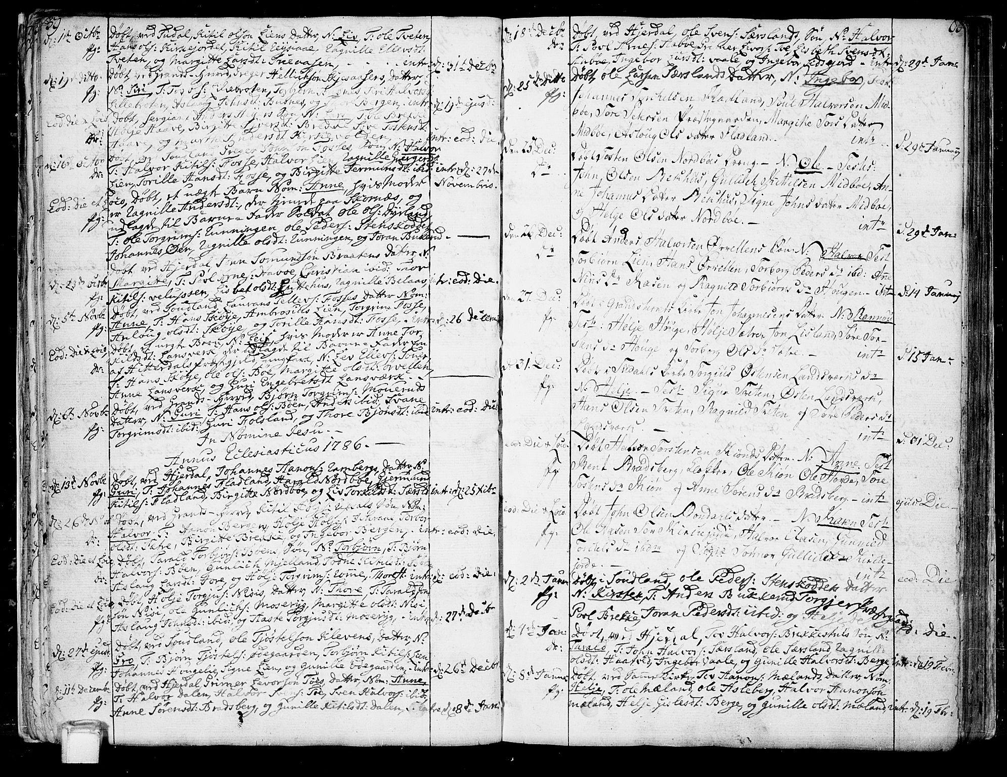 SAKO, Hjartdal kirkebøker, F/Fa/L0005: Ministerialbok nr. I 5, 1776-1801, s. 59-60
