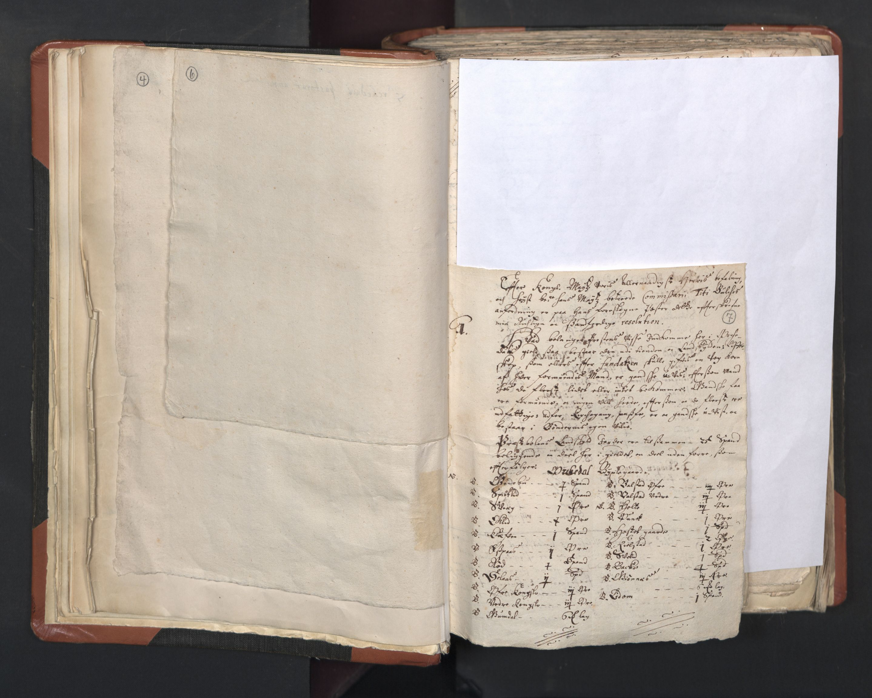 RA, Sogneprestenes manntall 1664-1666, nr. 31: Dalane prosti, 1664-1666, s. 6-7