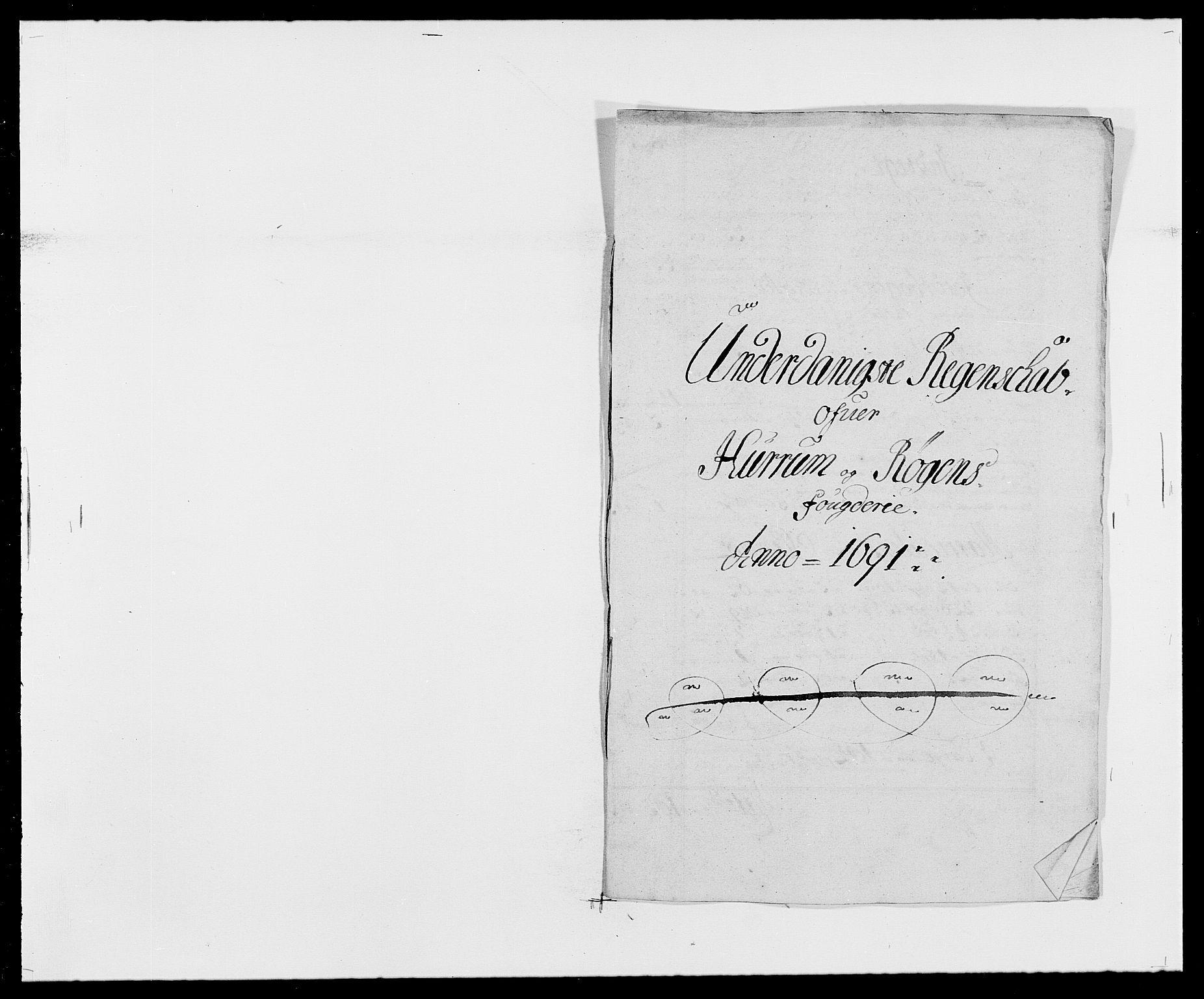 RA, Rentekammeret inntil 1814, Reviderte regnskaper, Fogderegnskap, R29/L1693: Fogderegnskap Hurum og Røyken, 1688-1693, s. 186