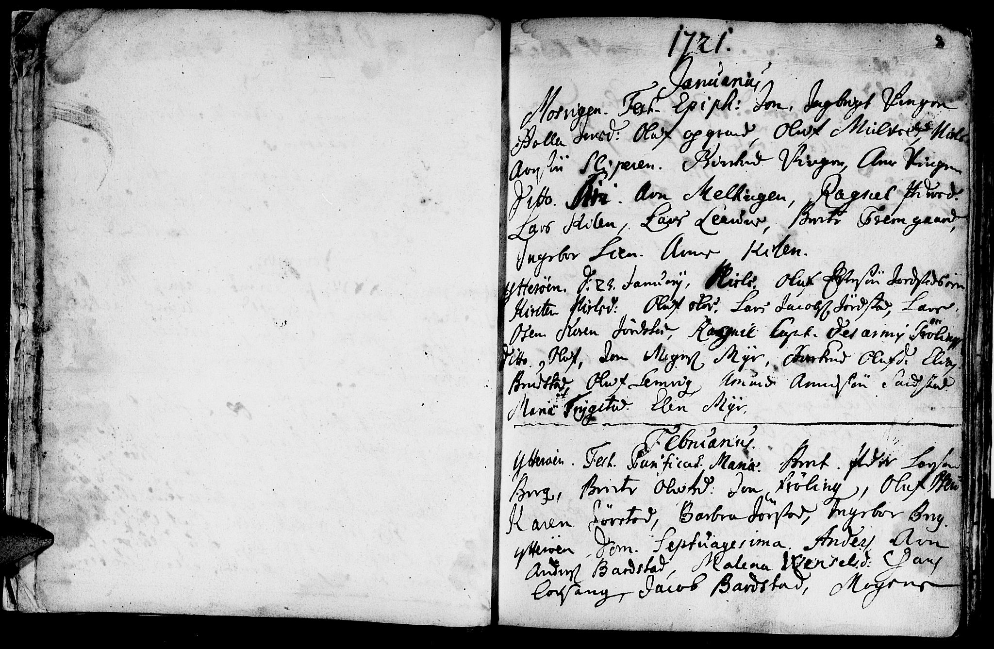SAT, Ministerialprotokoller, klokkerbøker og fødselsregistre - Nord-Trøndelag, 722/L0215: Ministerialbok nr. 722A02, 1718-1755, s. 8