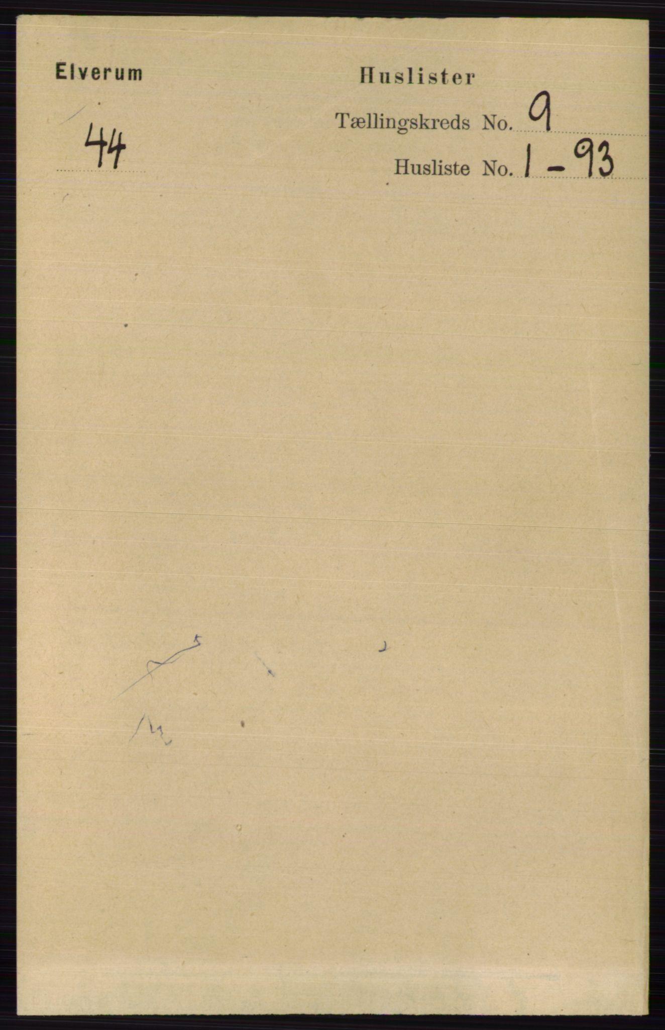 RA, Folketelling 1891 for 0427 Elverum herred, 1891, s. 7602