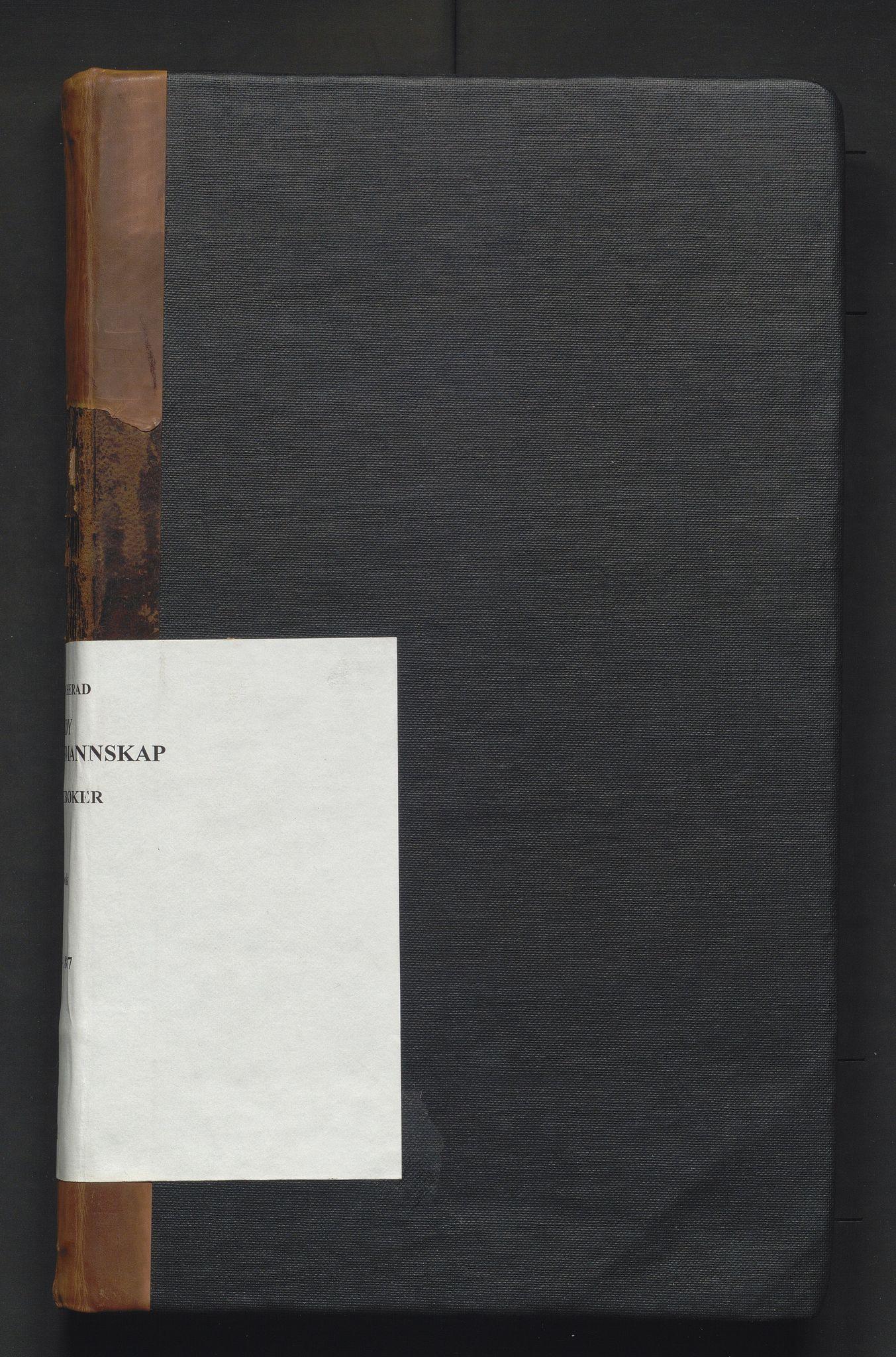 IKAH, Kvam herad. Formannskapet, A/Aa/L0001: Møtebok for Vikøy formannskap, representantskap og soknestyre og Øystese soknestyre, 1837-1867