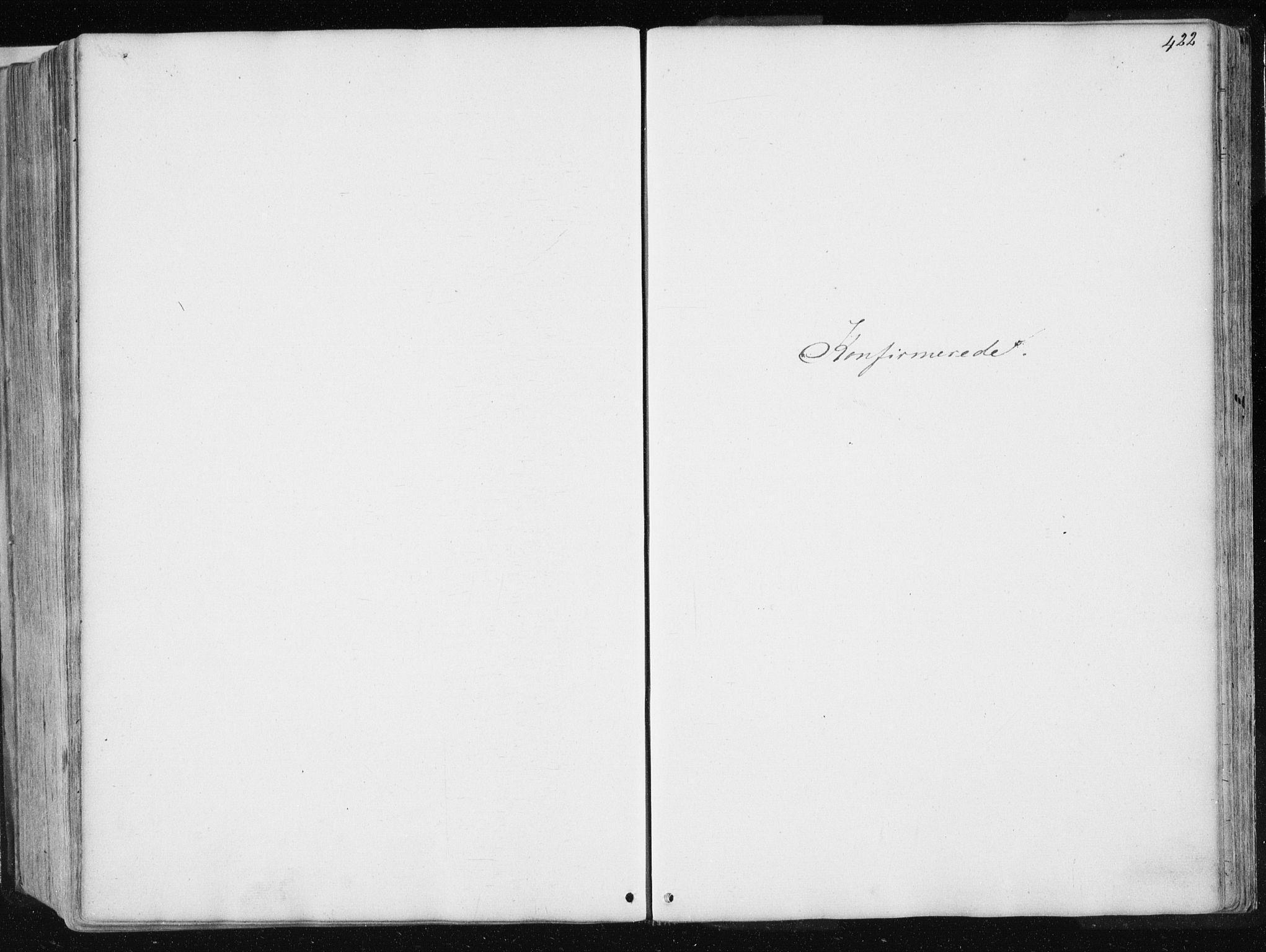 SAT, Ministerialprotokoller, klokkerbøker og fødselsregistre - Nord-Trøndelag, 741/L0393: Ministerialbok nr. 741A07, 1849-1863, s. 422